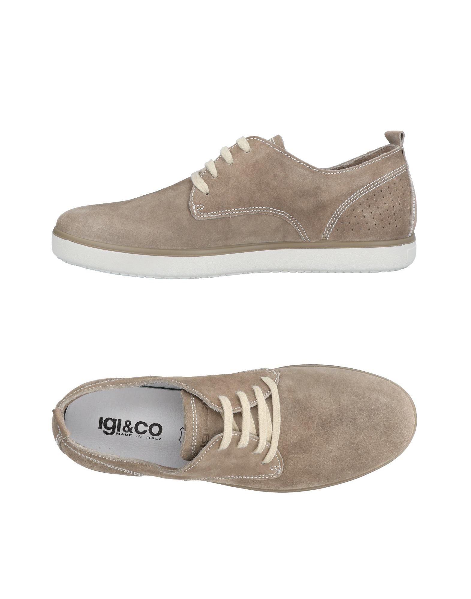 Sneakers Igi&Co Homme - Sneakers Igi&Co  Gris tourterelle Remise de marque