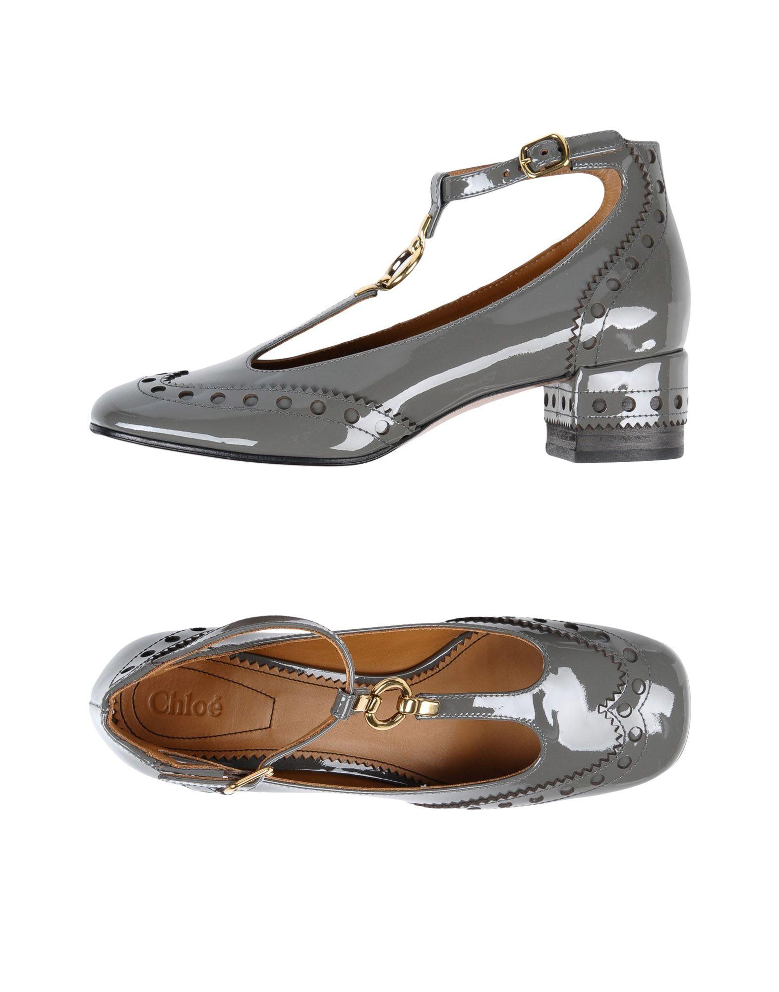 Zapatos casuales salvajes Zapato De Salón Chloé  Mujer - Salones Chloé  Chloé Plomo 93d553