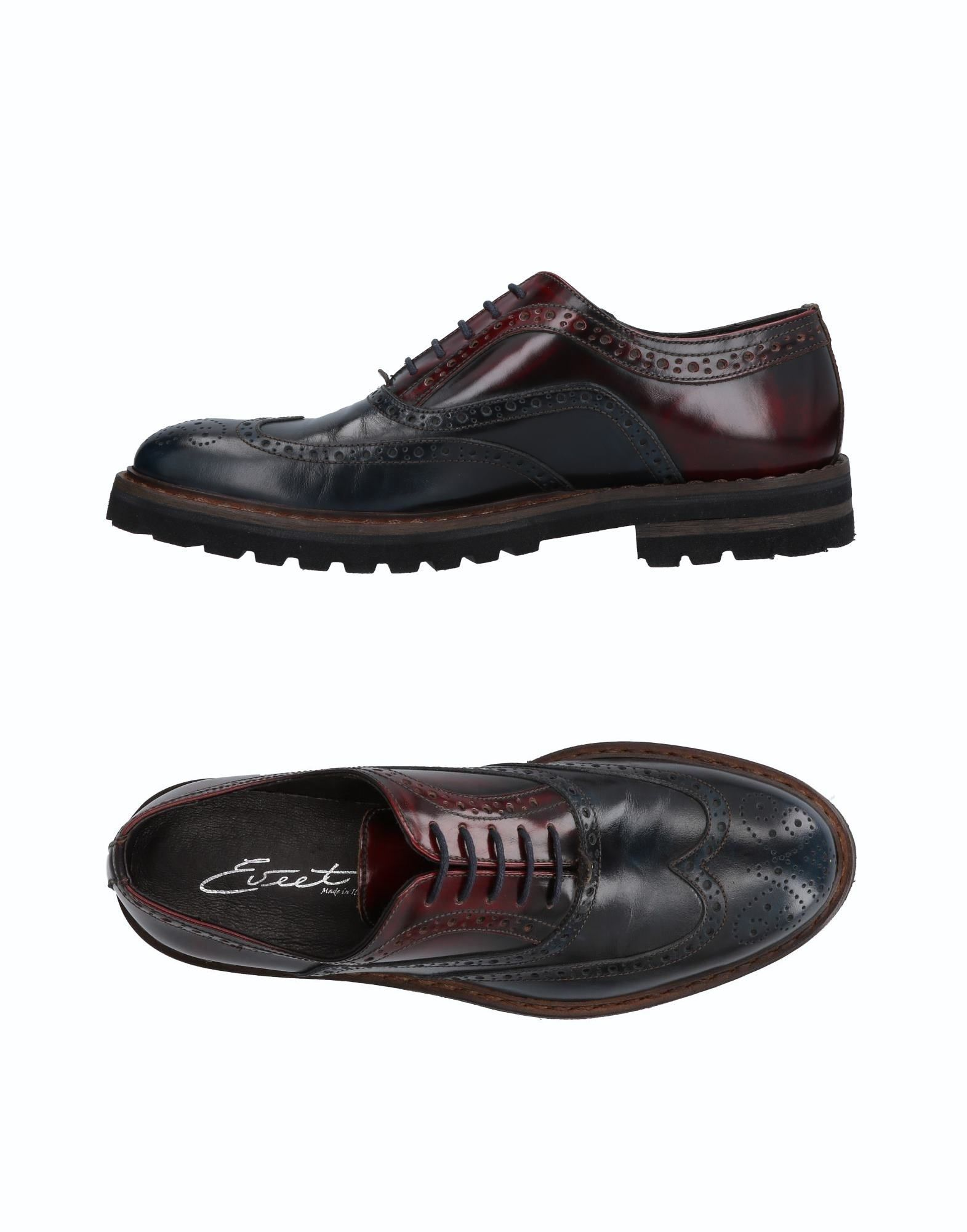 Rabatt echte Schuhe Eveet Schnürschuhe Herren  11464958HS