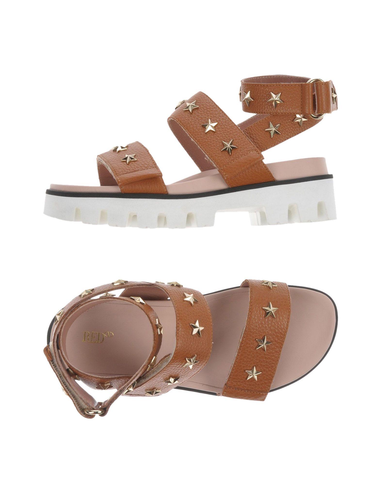 Haltbare Mode billige Schuhe Red(V) Sandalen Damen  11464978EK Heiße Schuhe