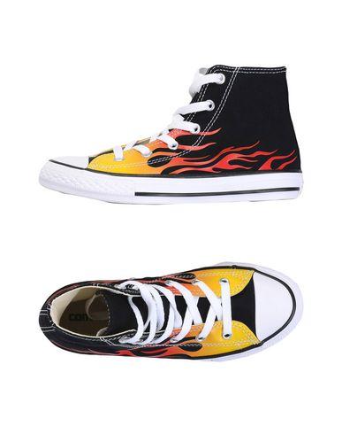 CONVERSE ALL STAR CTAS HI BLACK/FREESIA/TRUE RED Sneakers