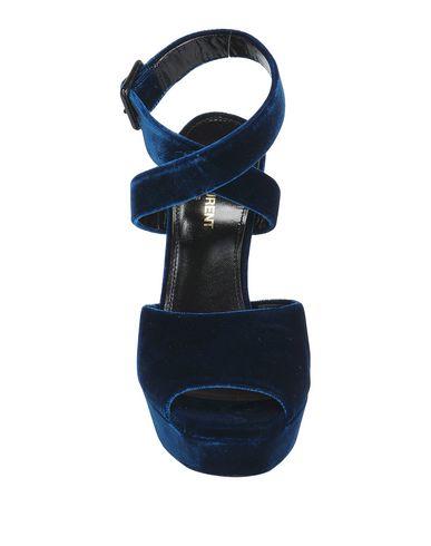 Saint Laurent Sandali Donna Scarpe Blu