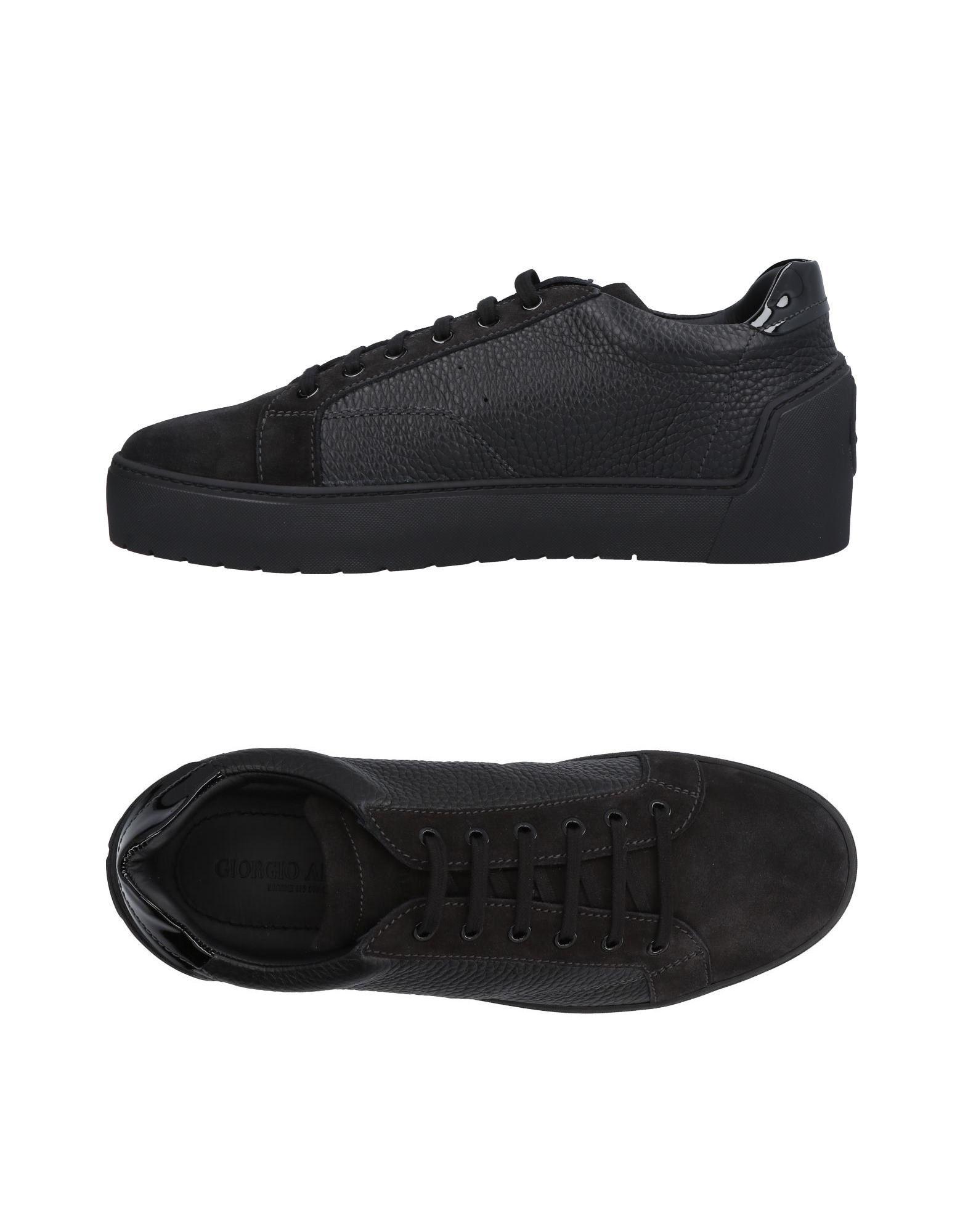 Sneakers Giorgio Armani Homme - Sneakers Giorgio Armani  Noir Dédouanement saisonnier