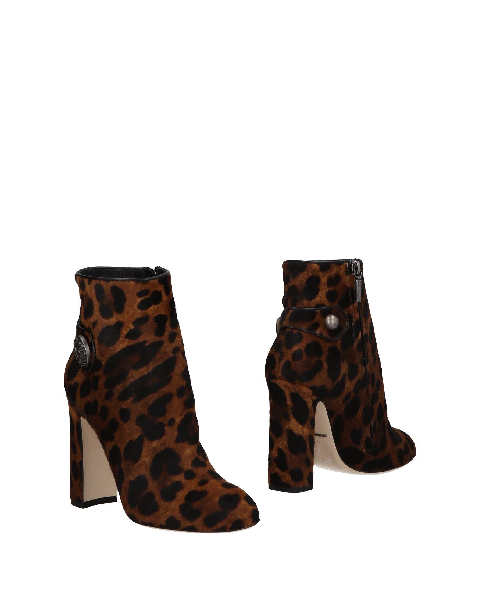 Dolce & Gabbana Stiefelette aussehende Damen  11465647HEGünstige gut aussehende Stiefelette Schuhe 6a1594