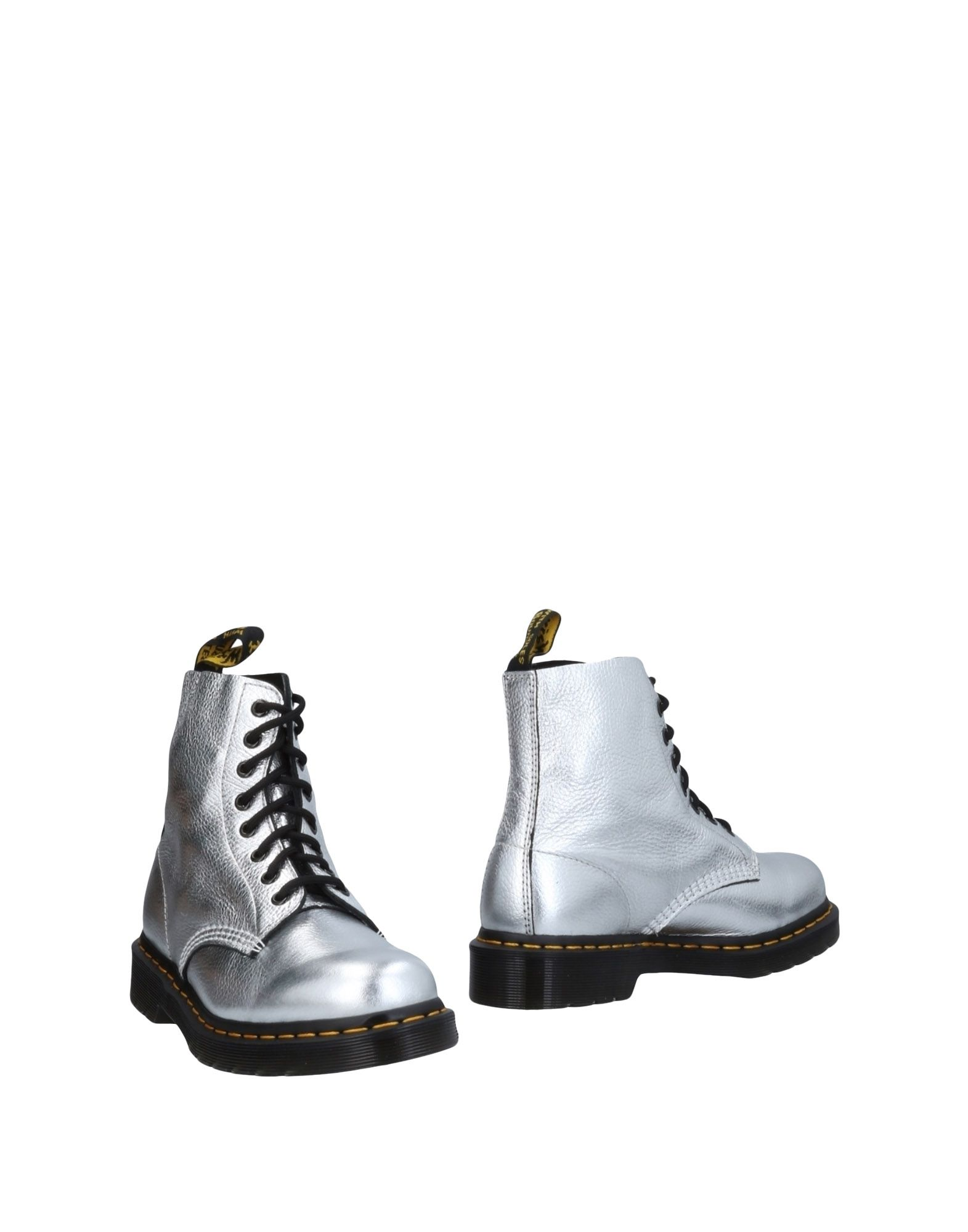 Bottine Dr. Martens Femme - Bottines Dr. Martens Argent Dernières chaussures discount pour hommes et femmes