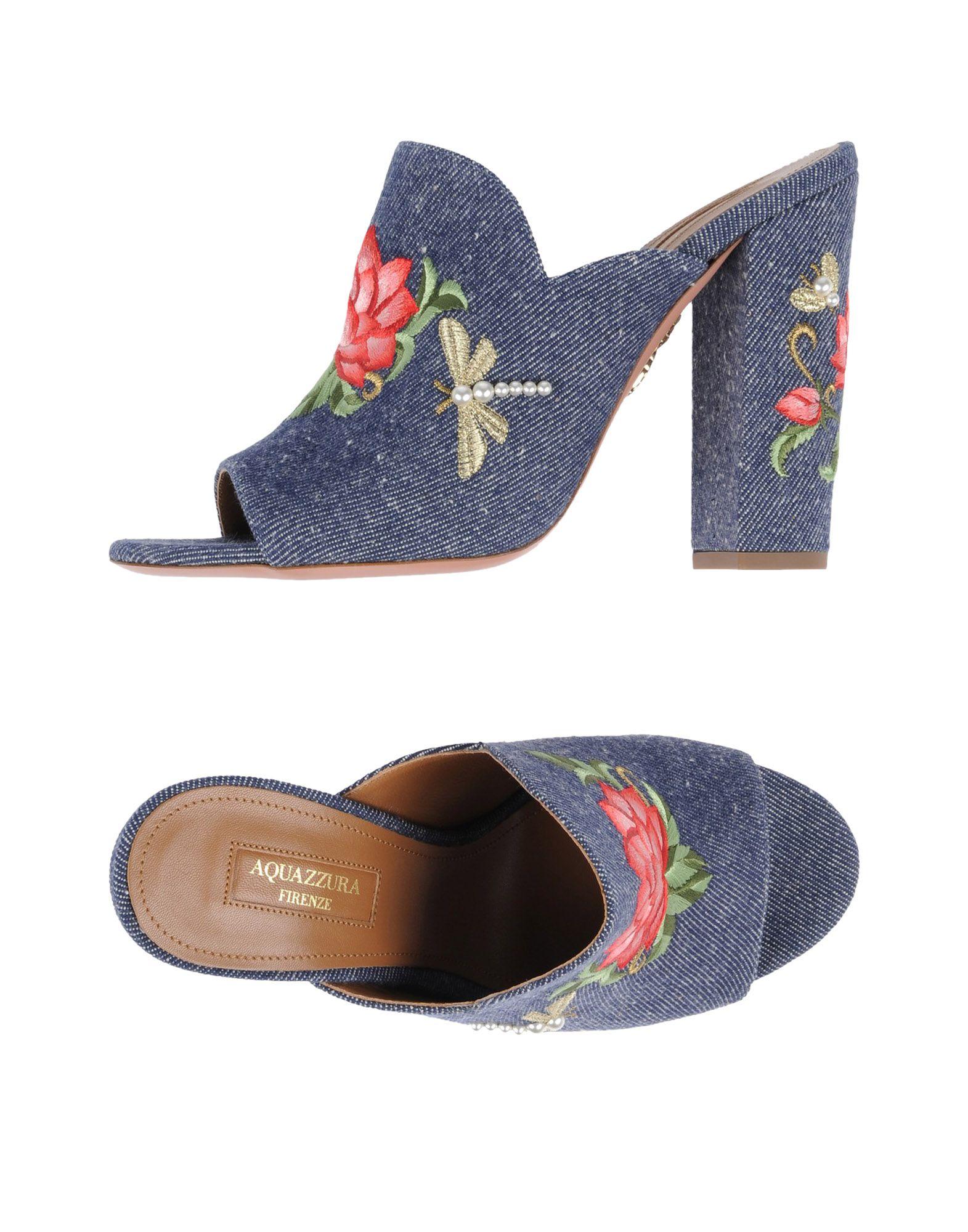 Rabatt Schuhe Aquazzura Sandalen Damen  11465749KC