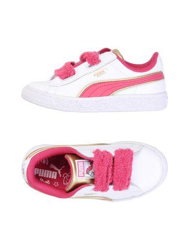 PUMA Minions Basket Heart Sneakers