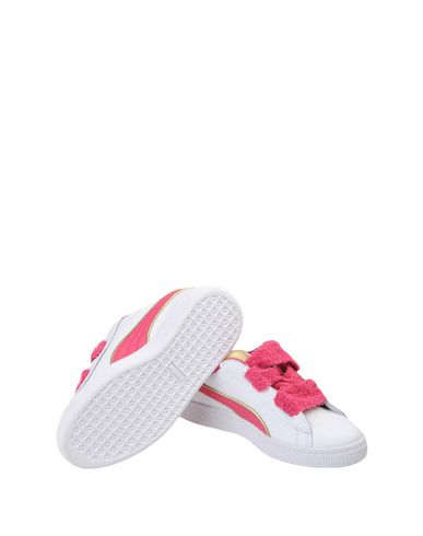 PUMA Minions Basket Heart Sneakers