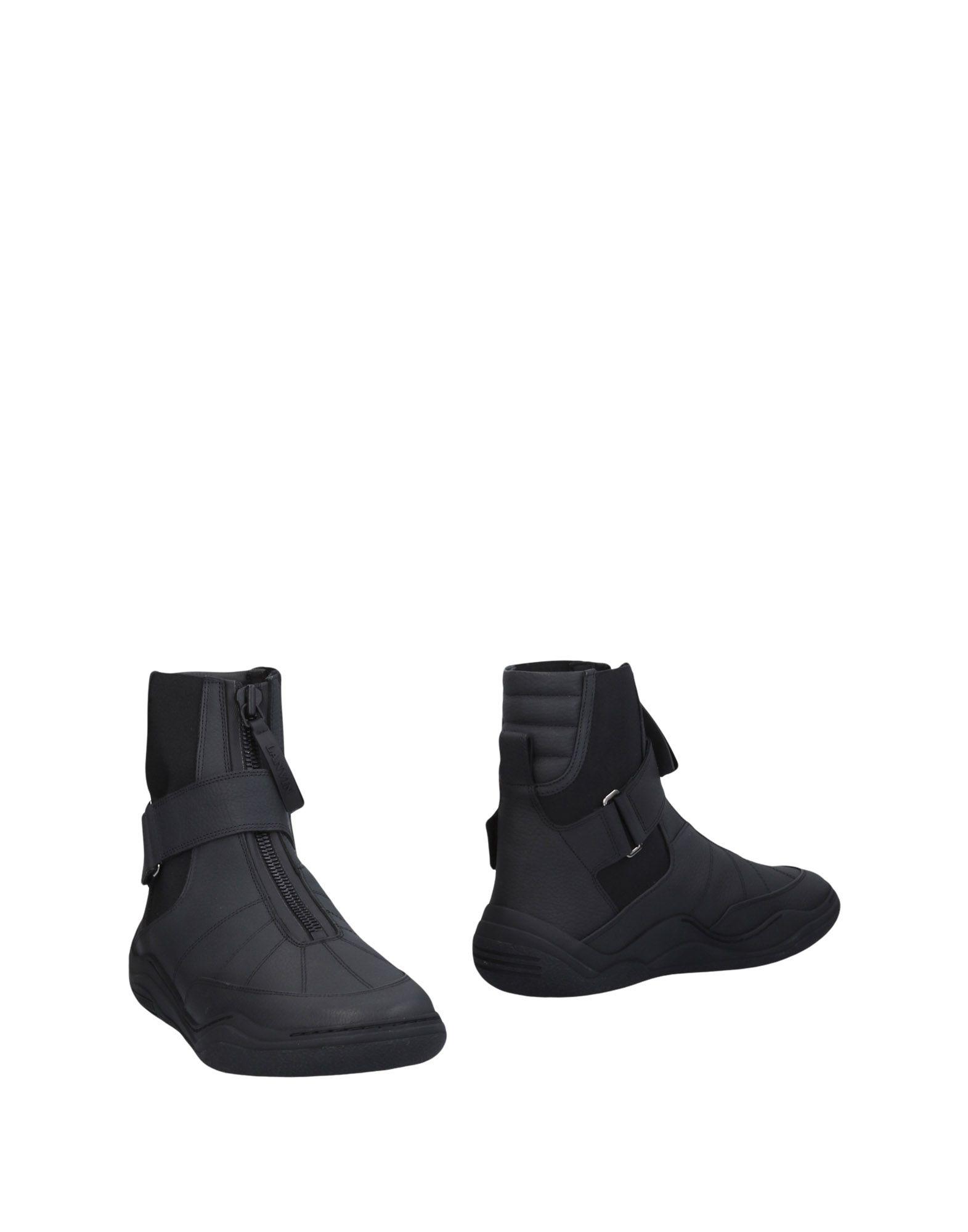 Günstige und modische Schuhe Lanvin Stiefelette Herren  11465830MP
