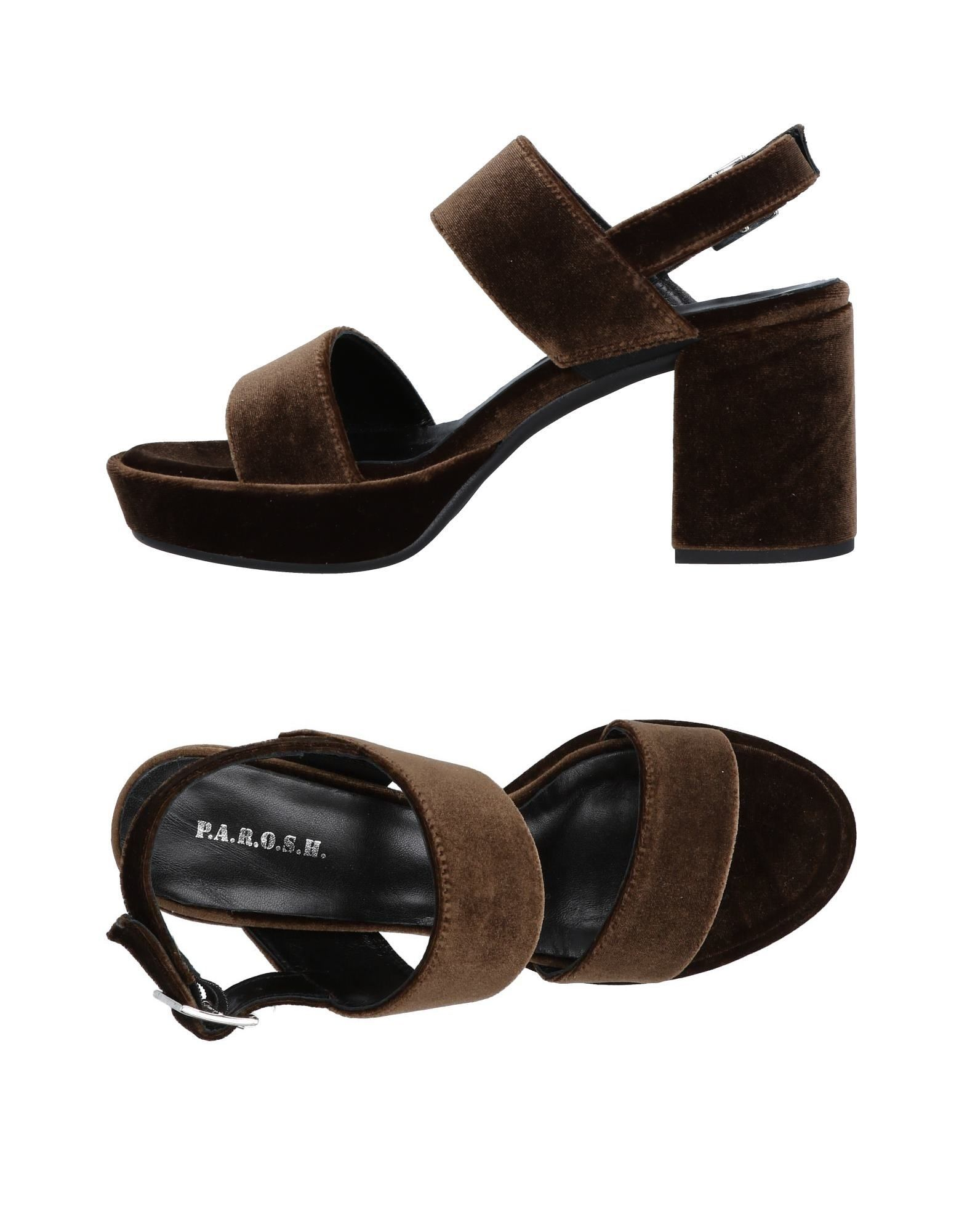 P.A.R.O.S.H. Sandals - on Women P.A.R.O.S.H. Sandals online on -  United Kingdom - 11465873MW a35a2c