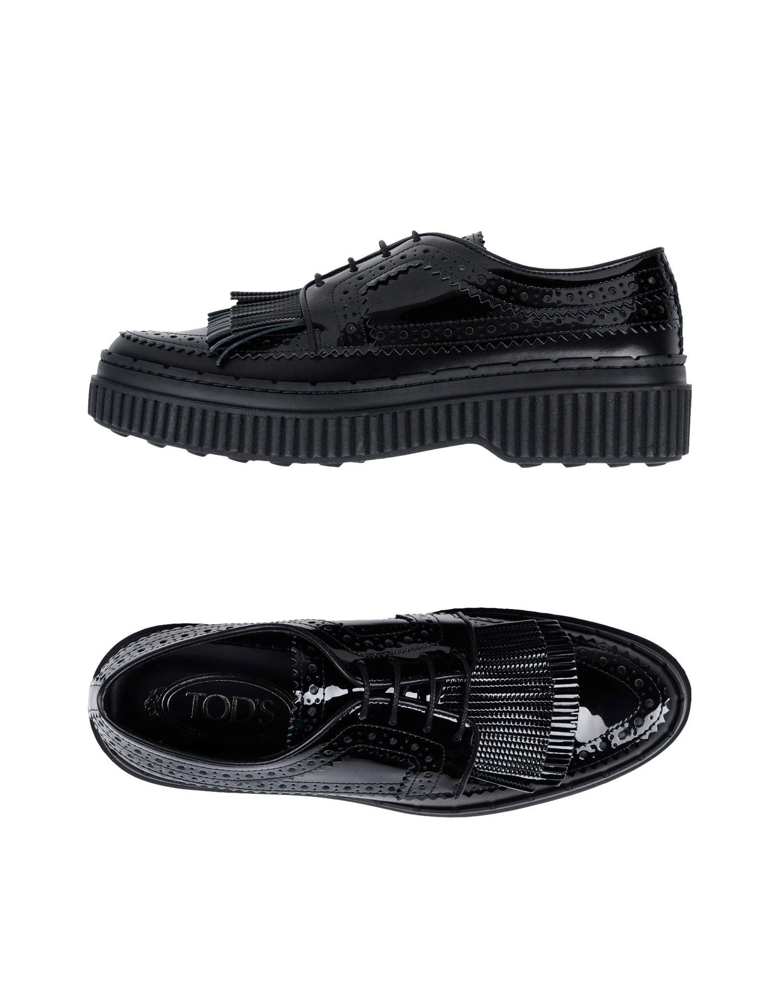 Rabatt Schuhe Tod's Schnürschuhe Damen  11465914QI
