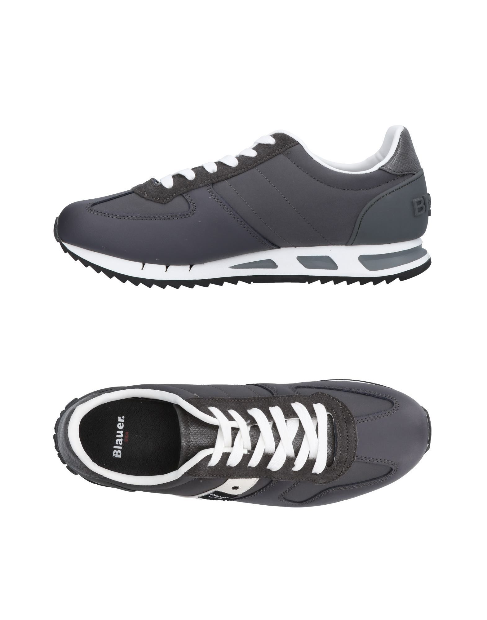 Rabatt echte Schuhe Herren Blauer Sneakers Herren Schuhe
