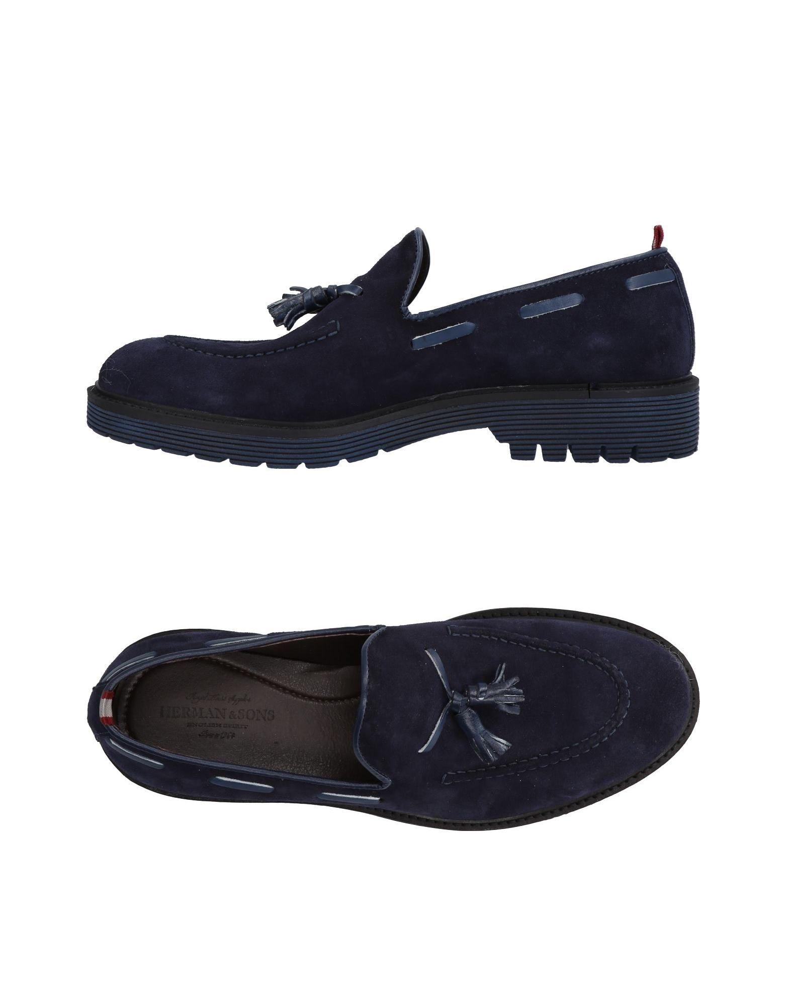 Rabatt echte Schuhe Herman & Sons Mokassins Herren  11466002TA