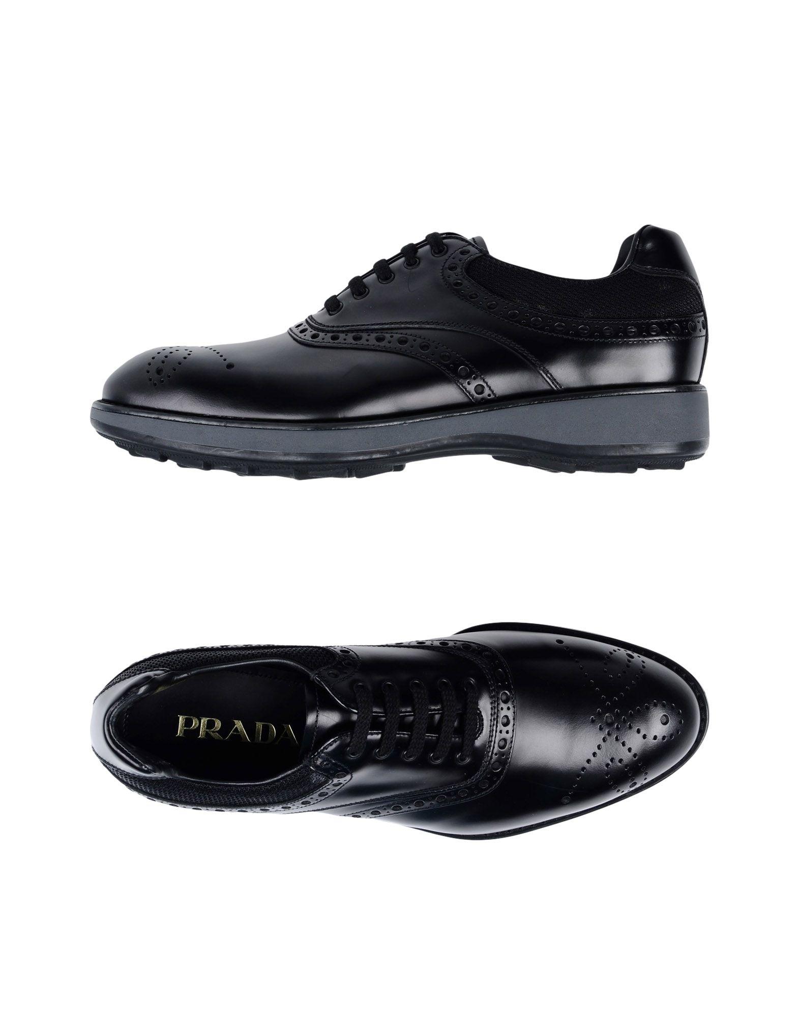 Prada Schnürschuhe Herren  11466125WP Gute Qualität beliebte Schuhe
