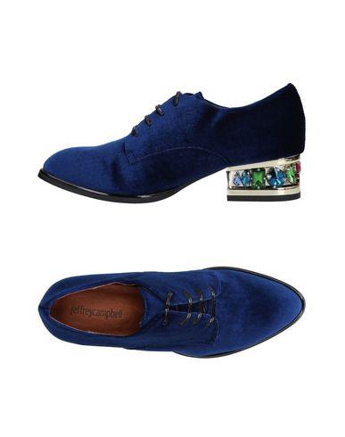 Zapato De Cordones Jeffrey Campbell Mujer - Zapatos De Cordones Jeffrey  Campbell - 11466275HF Azul marino 26dd476b828