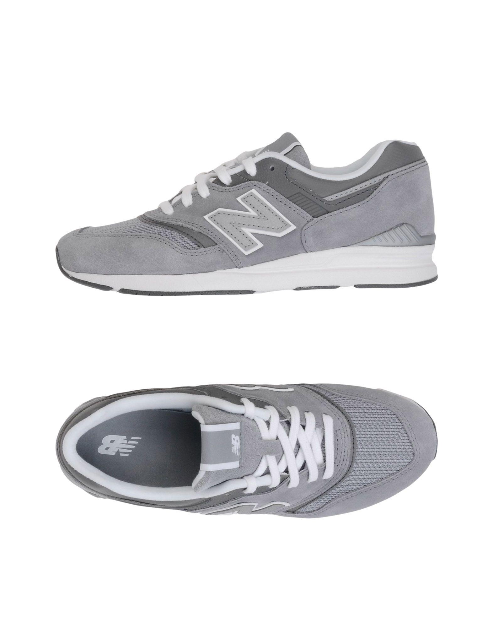Zapatillas New Balance 697 Suede Balance - Mujer - Zapatillas New Balance Suede  Gris 4a9833