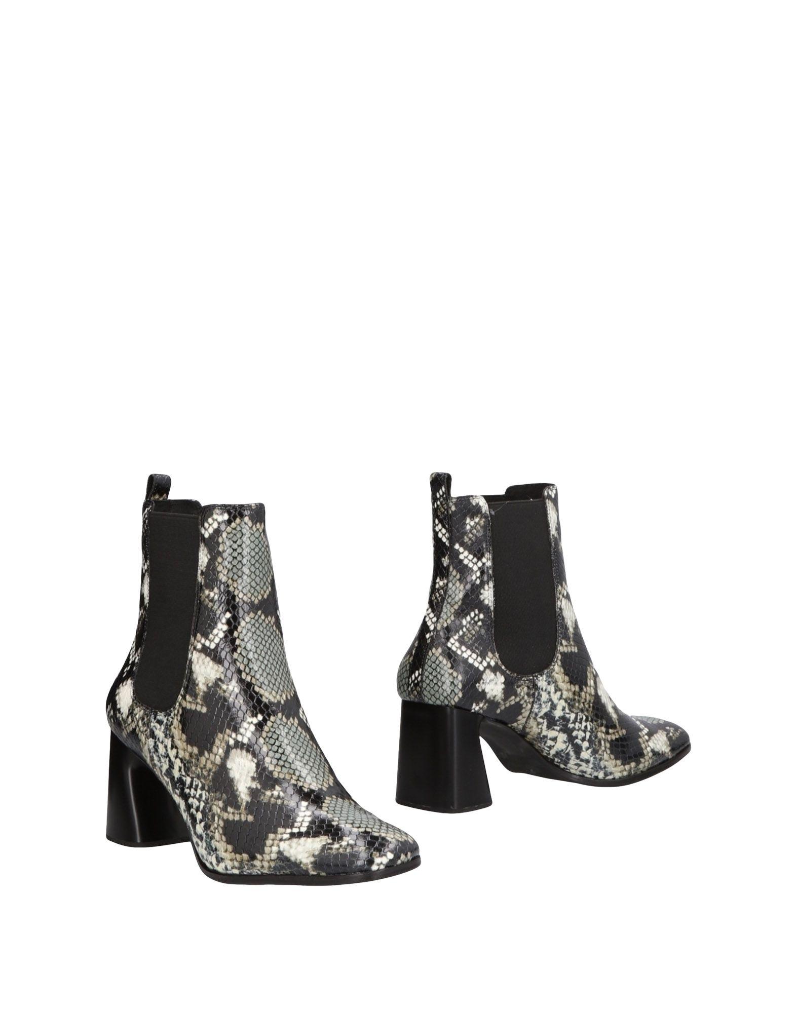 Bottillons Jeffrey Campbell Femme - Bottillons Jeffrey Campbell Noir Dernières chaussures discount pour hommes et femmes