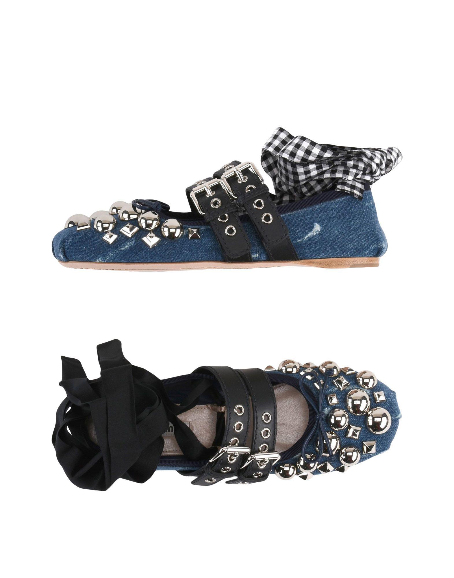 Miu  Miu Ballerinas Damen  Miu 11467337RIGünstige gut aussehende Schuhe 6f423e