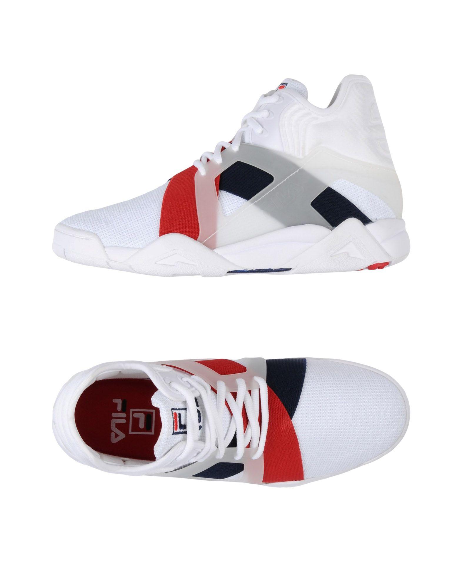 Sneakers Fila Homme - Sneakers Fila  Blanc Spécial temps limité