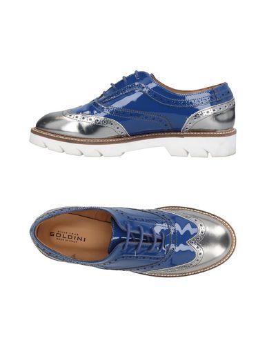 Zapato De Cordones Soldini Mujer - Zapatos Gris De Cordones Soldini - 11467849OG Gris Zapatos cd26b9
