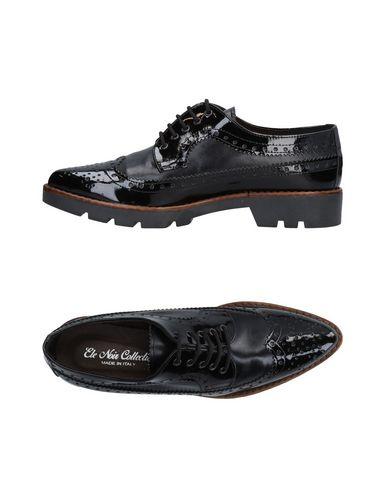 Zapatos Noir Ele Cordones Zapato De Mujer qPBtT1