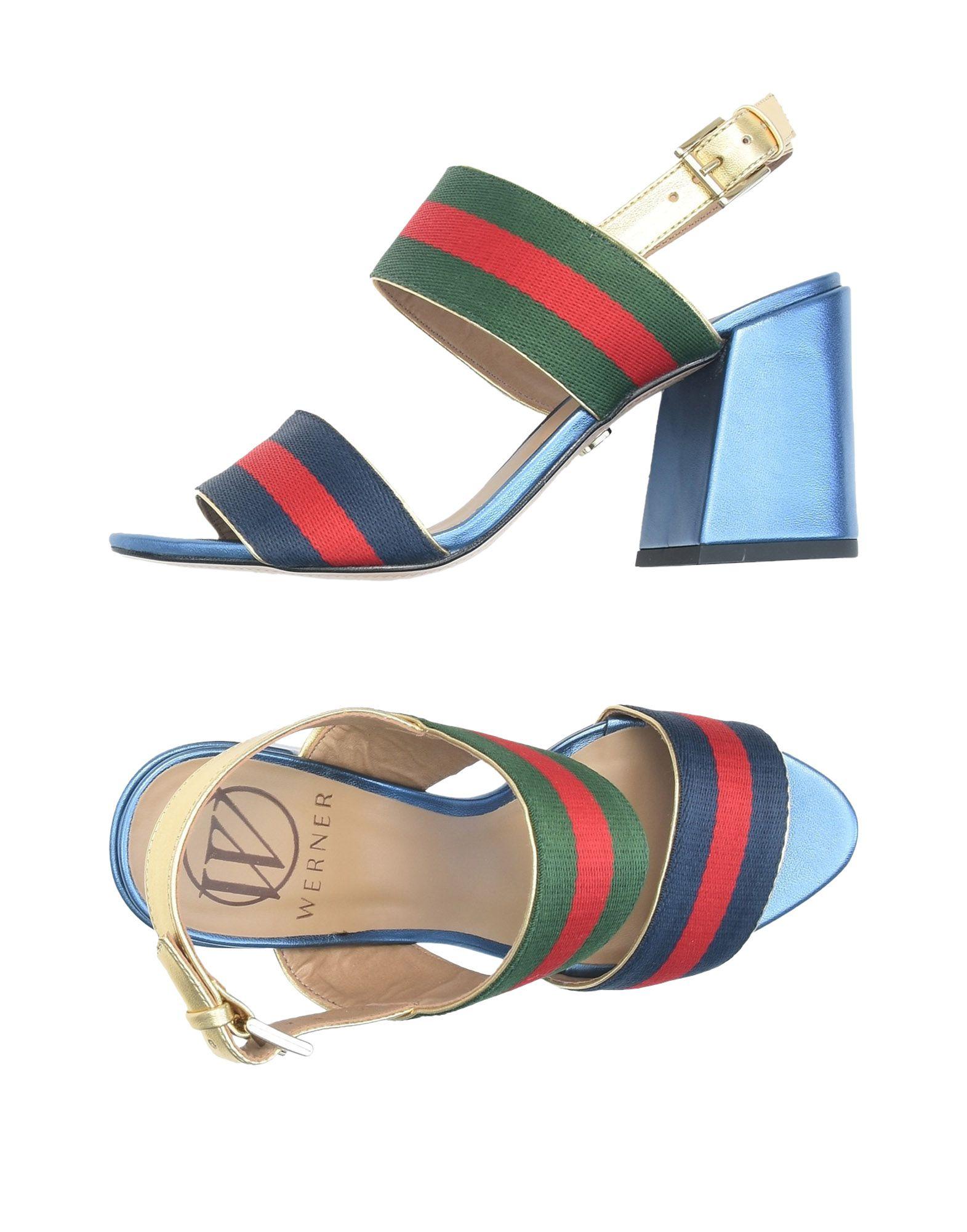 Stilvolle billige  Schuhe Werner Sandalen Damen  billige 11468593OS 108242