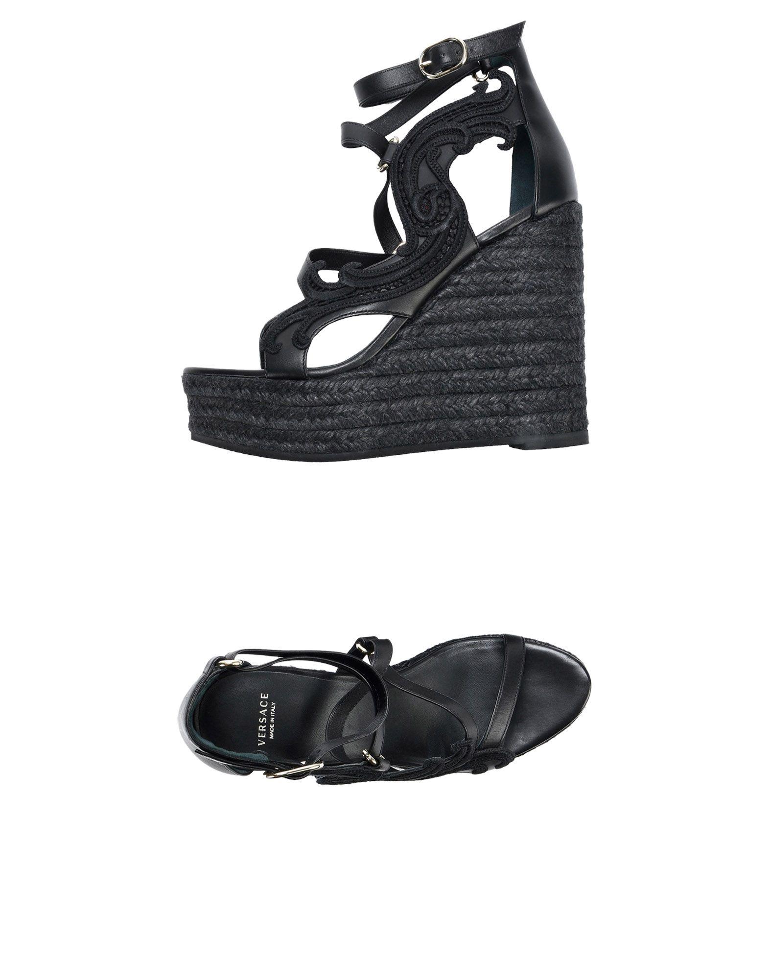 Versace Sandalen aussehende Damen  11469109HUGünstige gut aussehende Sandalen Schuhe 3df876