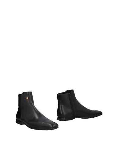 Zapatos con - descuento Botín Versace Hombre - con Botines Versace - 11469179JD Negro dd6d62