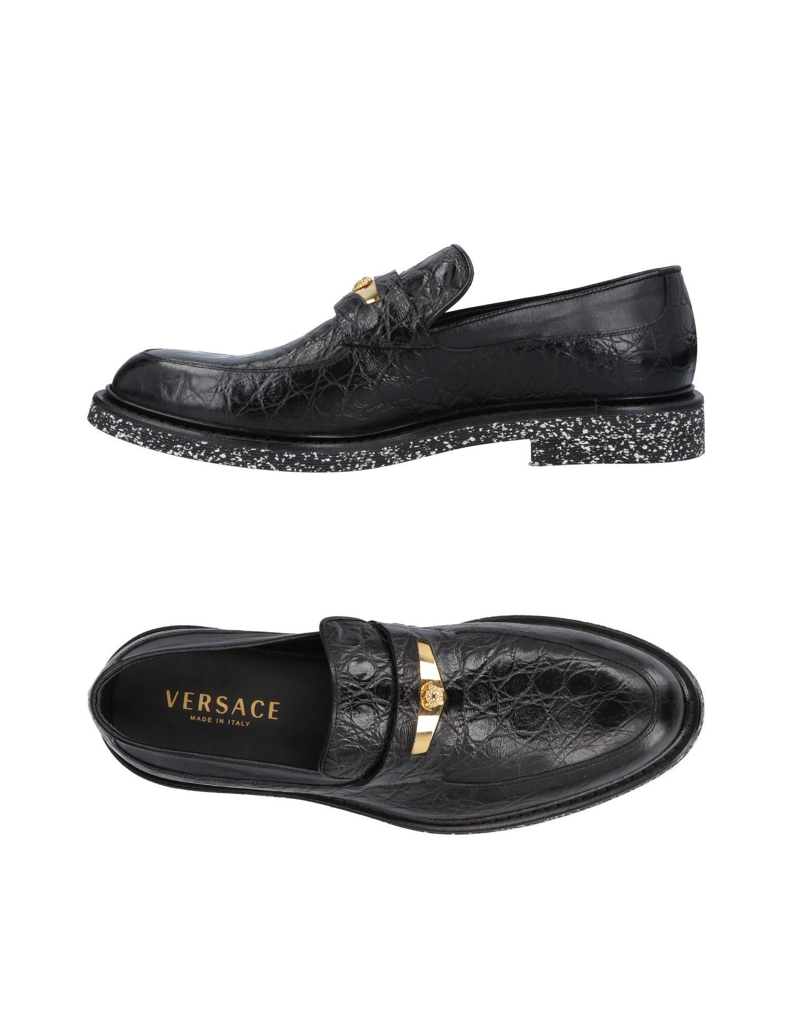 Günstige und modische Schuhe Versace Mokassins Herren  11469301PI