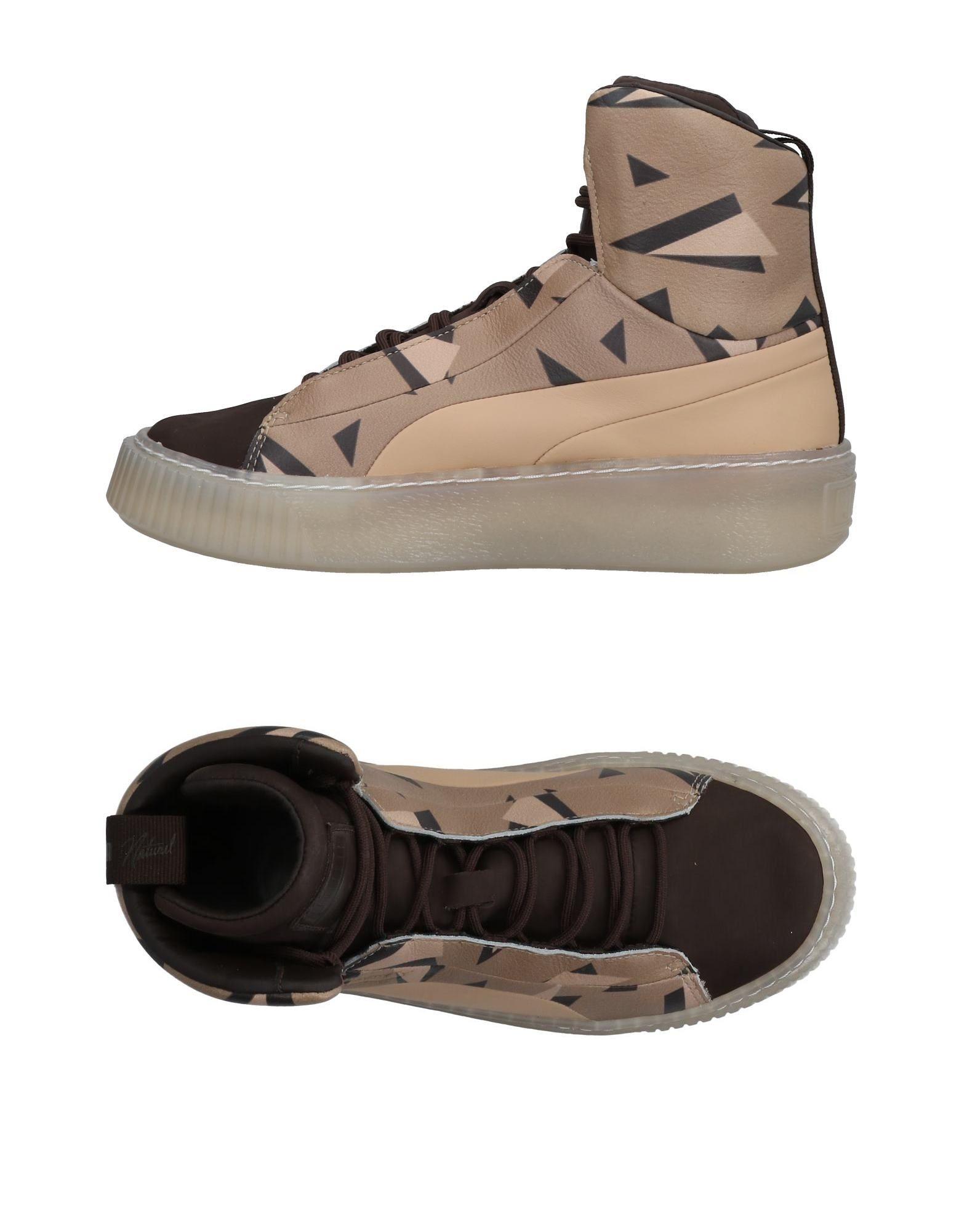X Platmaisonbl Pumas Naturel High-tops Et Chaussures De Sport L1AwKcd
