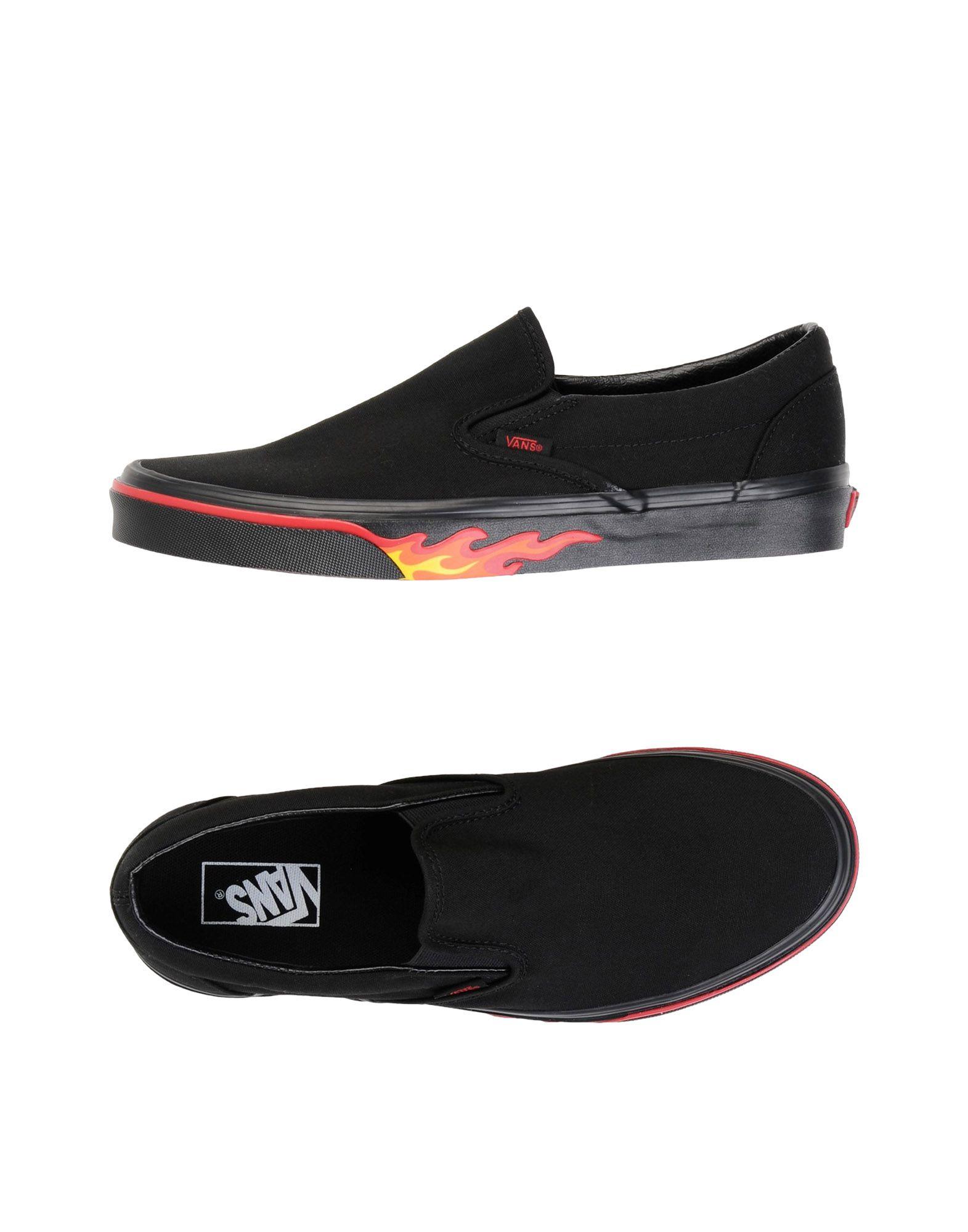 Sneakers Vans Ua Classic Slip-On - Homme - Sneakers Vans  Noir Mode pas cher et belle