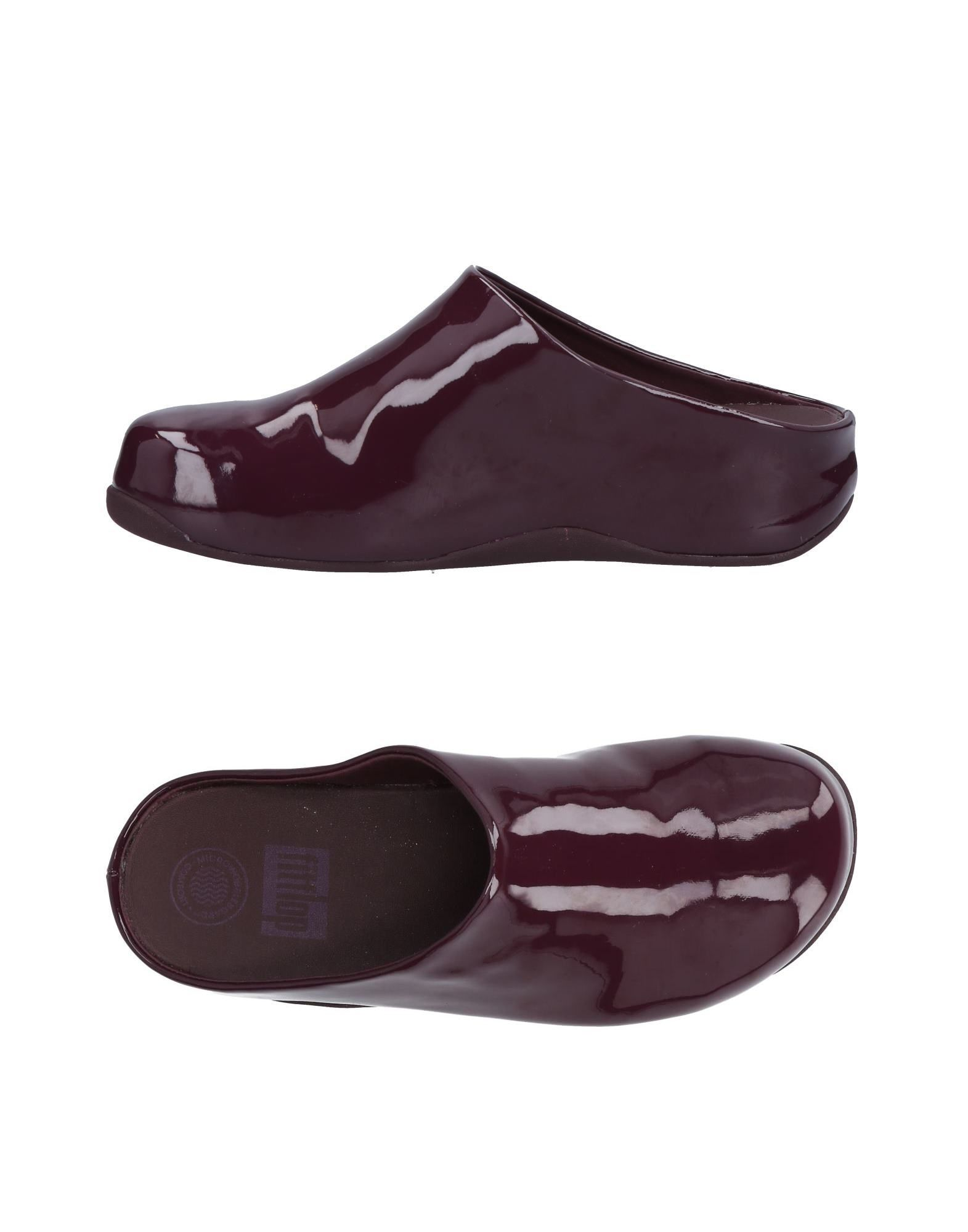 Günstige und modische Schuhe Fitflop Pantoletten Damen  11469883DK