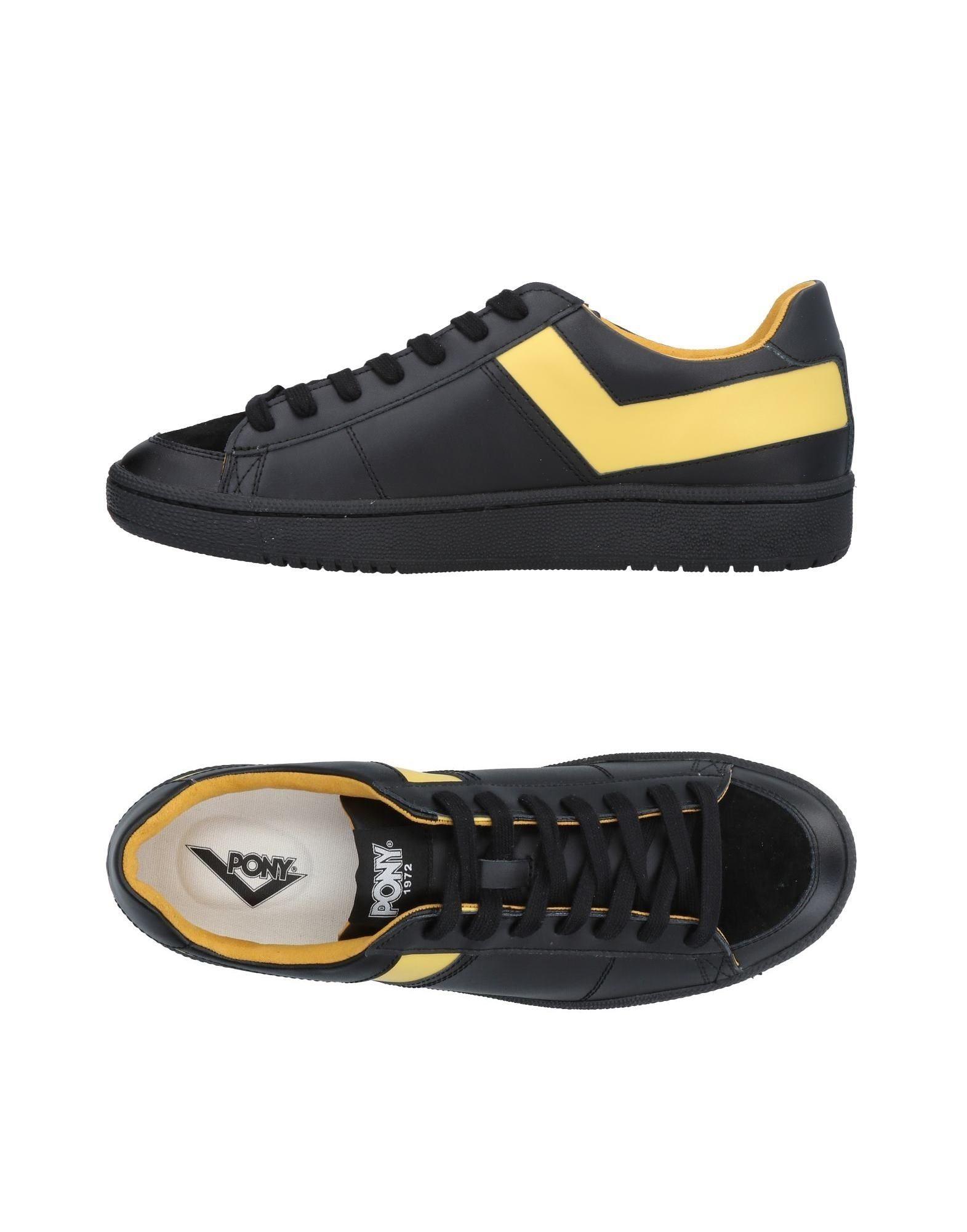 Rabatt echte Schuhe Pony Sneakers Herren  11470630QG