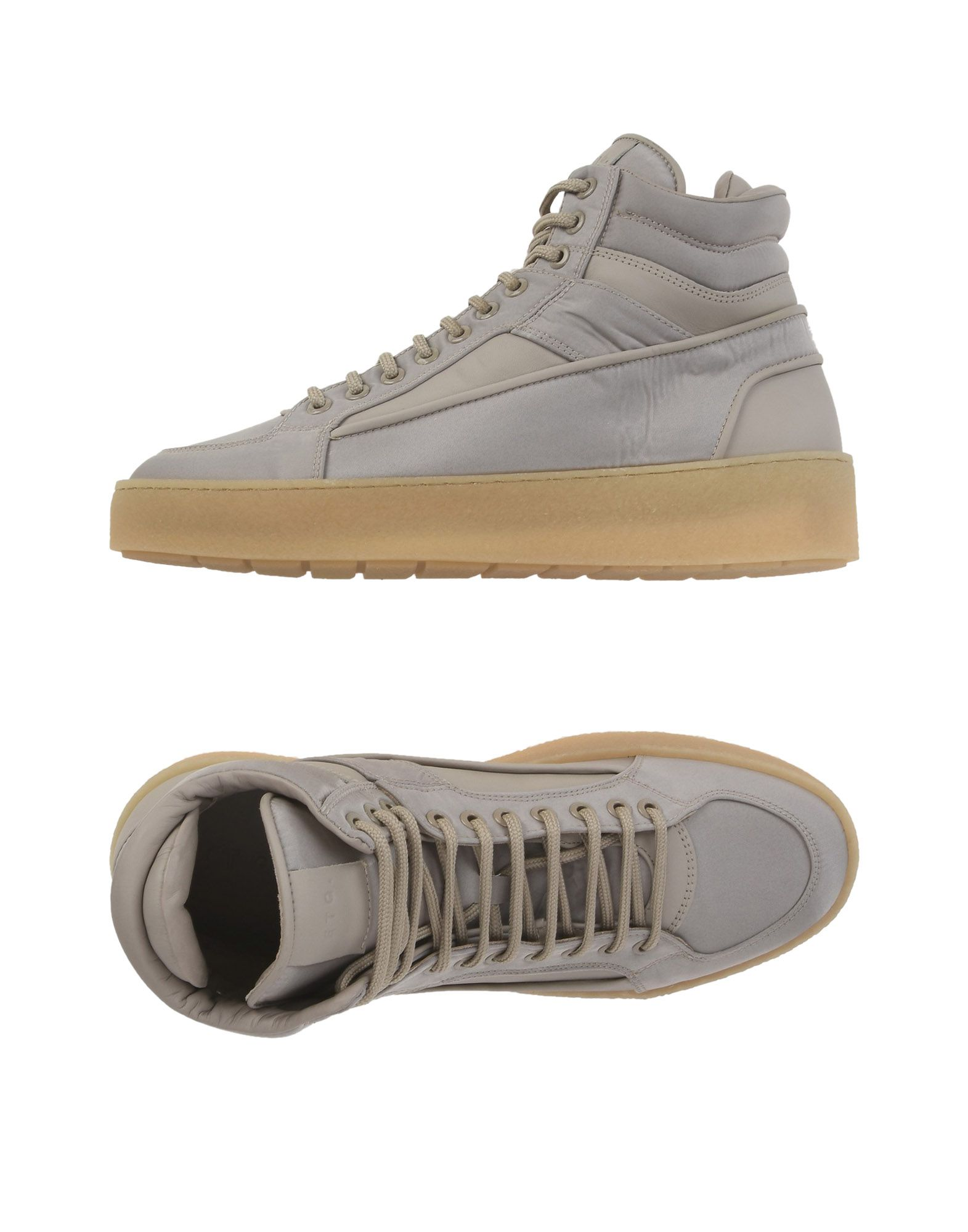 Sneakers Etq Amsterdam  High 2 - Homme - Sneakers Etq Amsterdam  Beige Remise de marque
