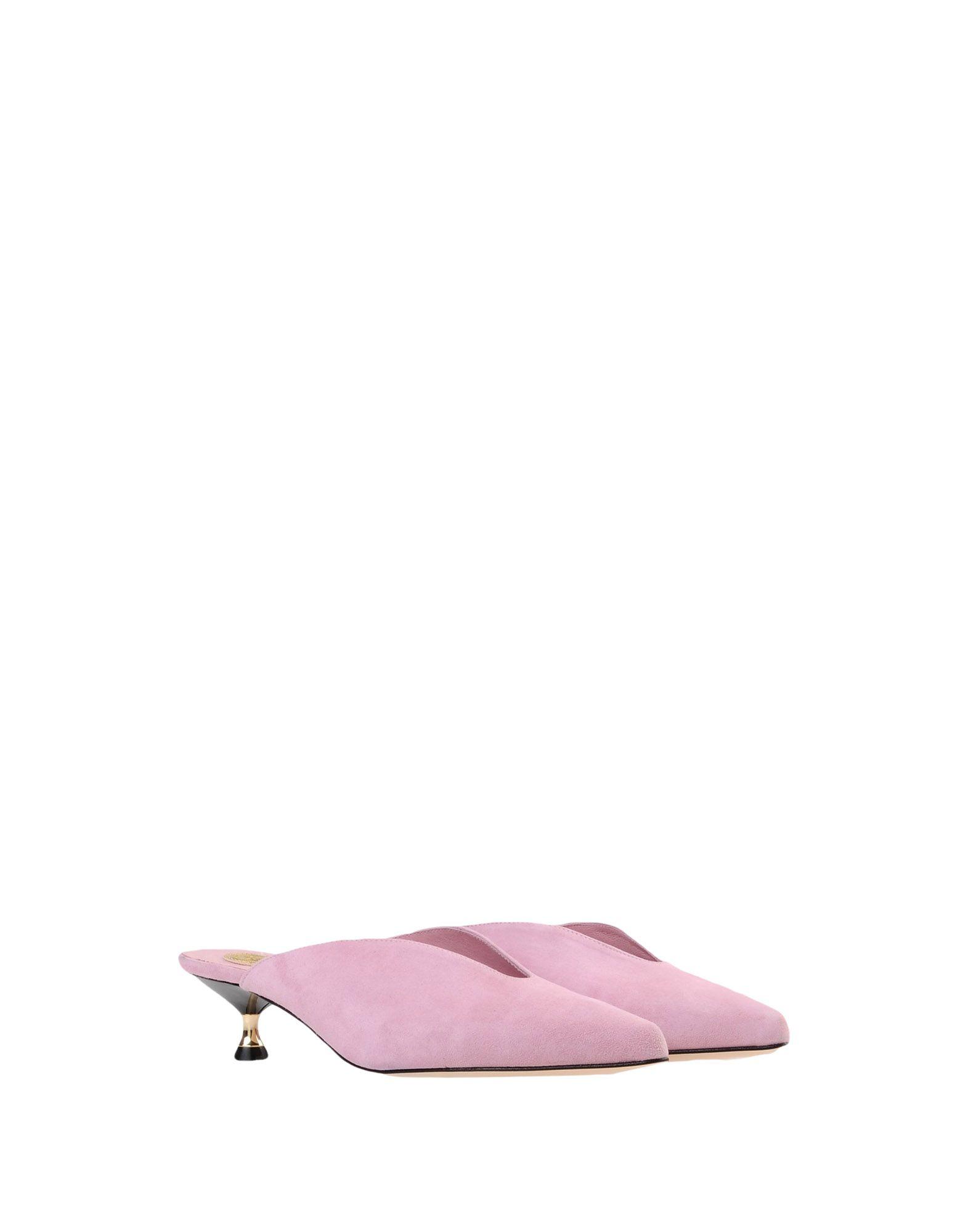 Stilvolle Shoeshibar billige Schuhe Maison Shoeshibar Stilvolle Pantoletten Damen  11470846DJ bf7202