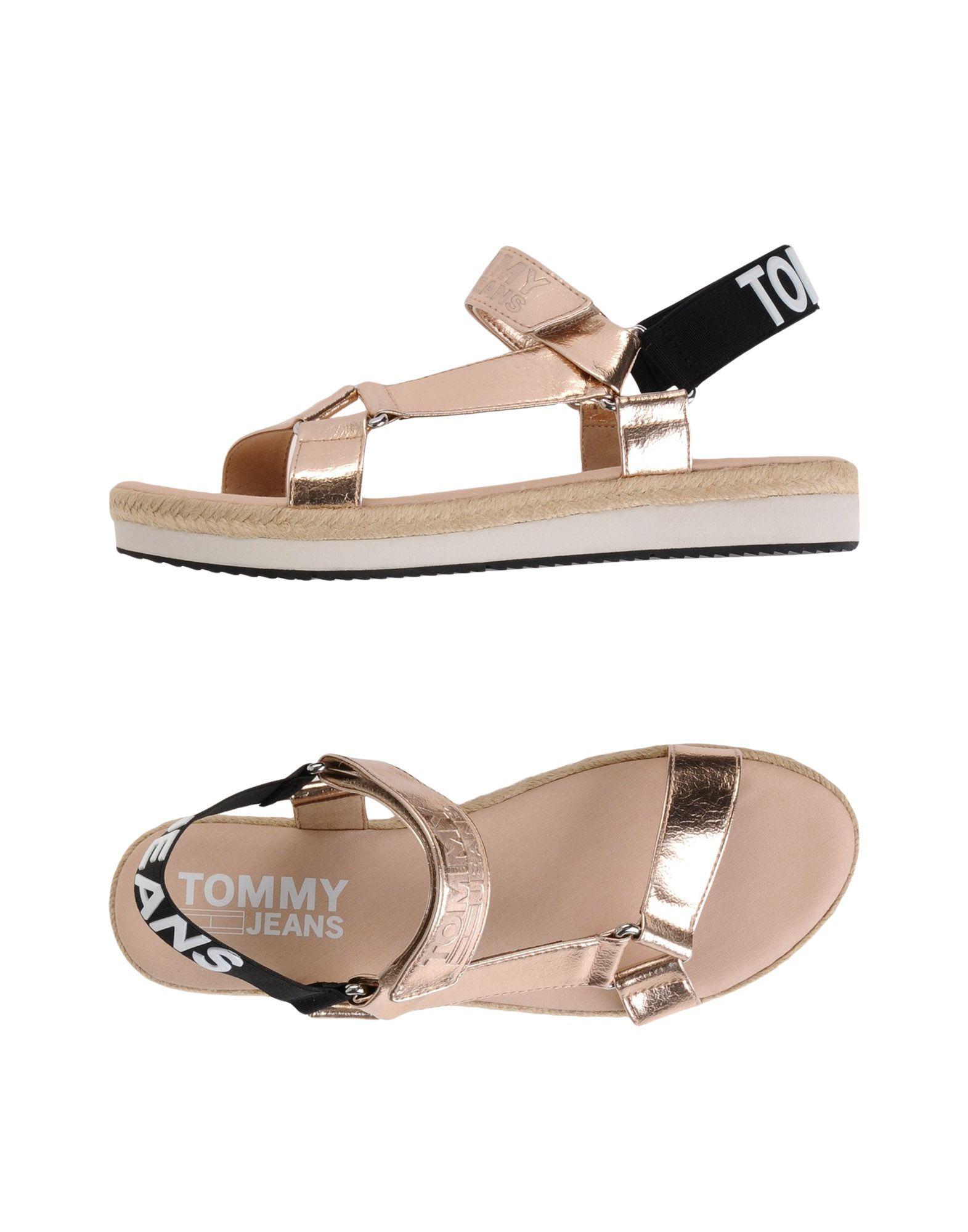 Sandales Tommy Jeans Femme - Sandales Tommy Jeans sur