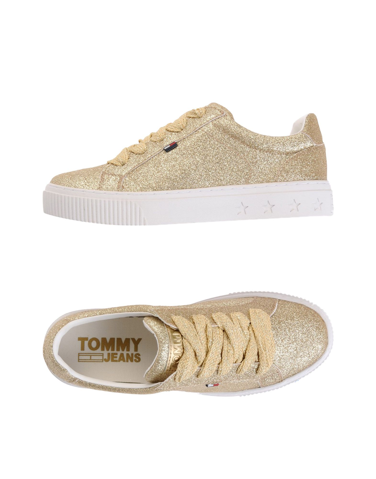 Sneakers Tommy Jeans Tommy Jeans Glitter Sneaker - Femme - Sneakers Tommy Jeans sur