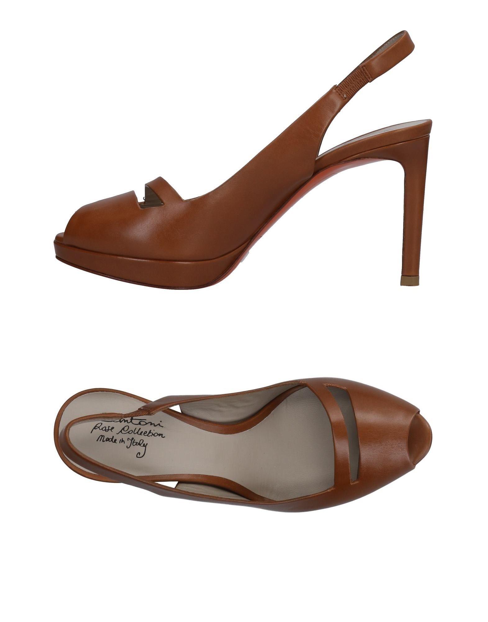 Rabatt Schuhe Santoni Sandalen Damen  11471132FR
