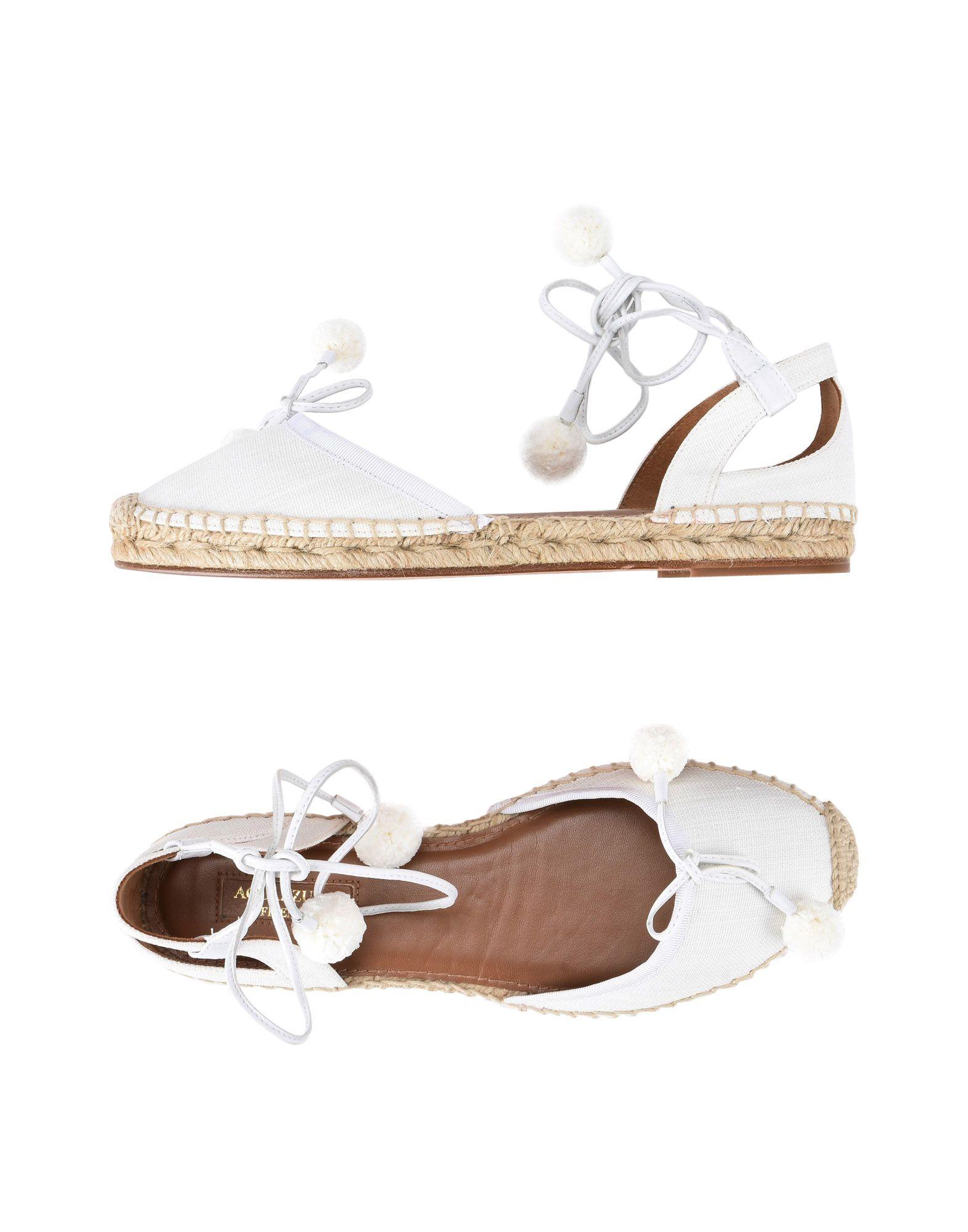 Aquazzura Espadrilles Damen  11471138PAGut aussehende strapazierfähige Schuhe