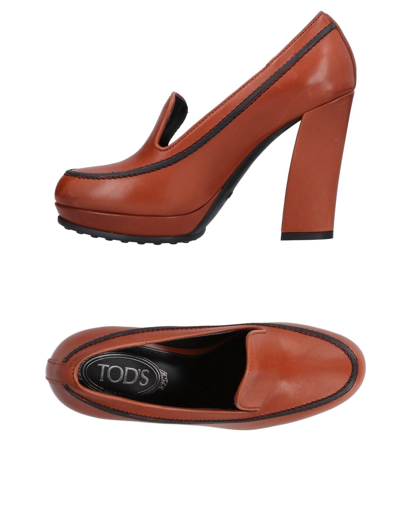 Rabatt Schuhe Tod's Mokassins Damen  11471172HL