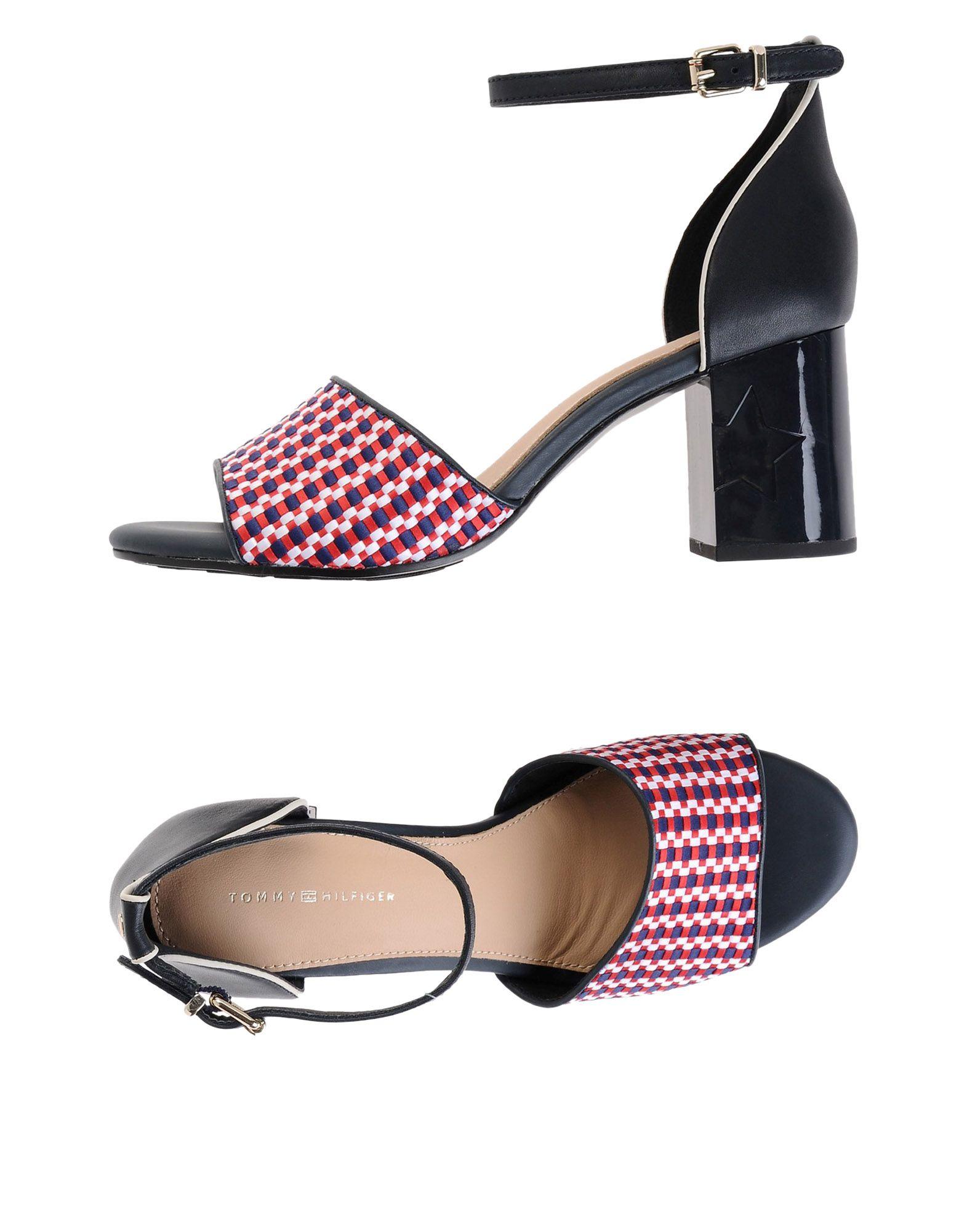 Tommy Hilfiger Corporate Interwoven Mid Heel  11471230FN Gute Qualität beliebte Schuhe