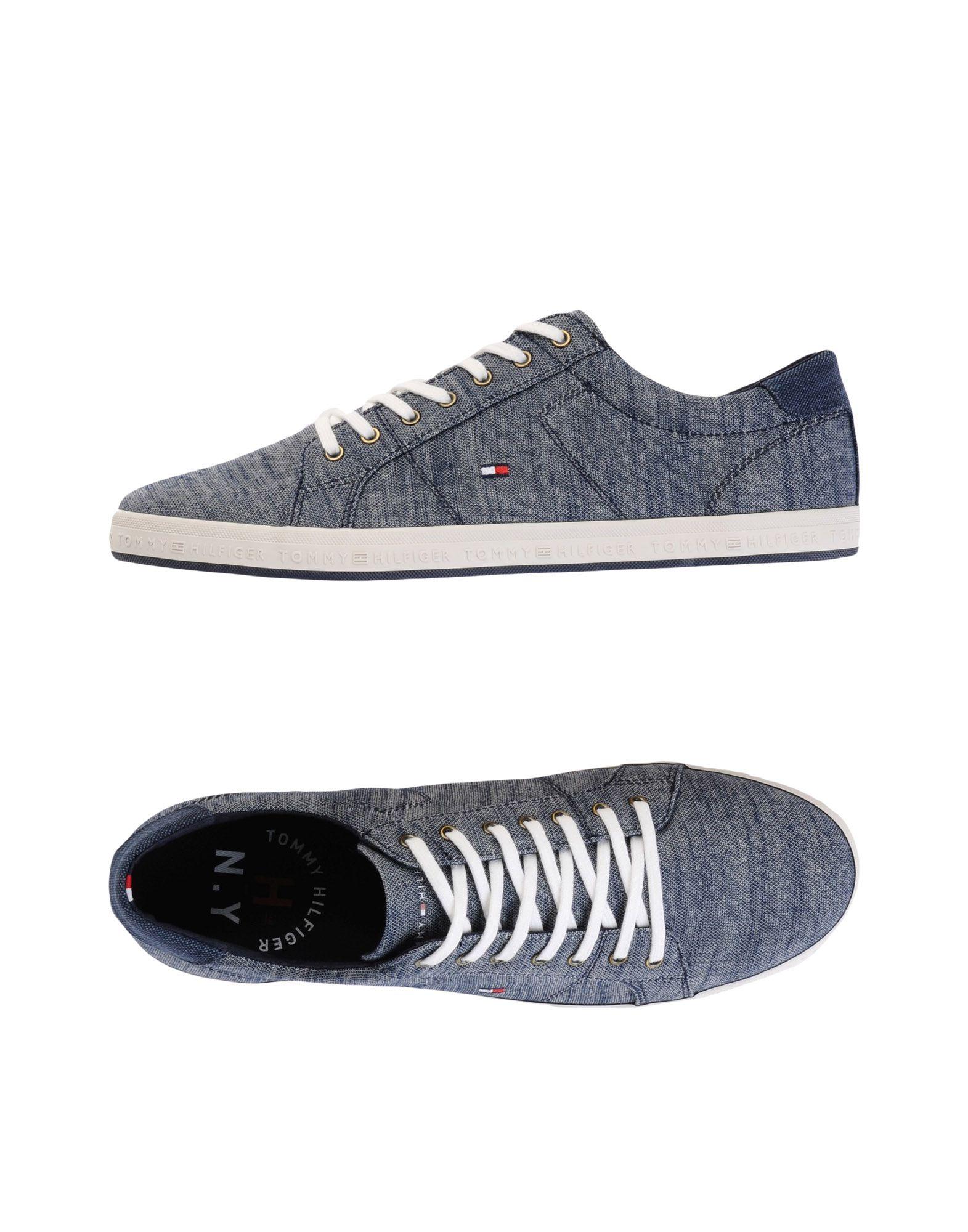 Sneakers Tommy Hilfiger Essential Pique Denim Sneaker - Uomo - 11471255MI