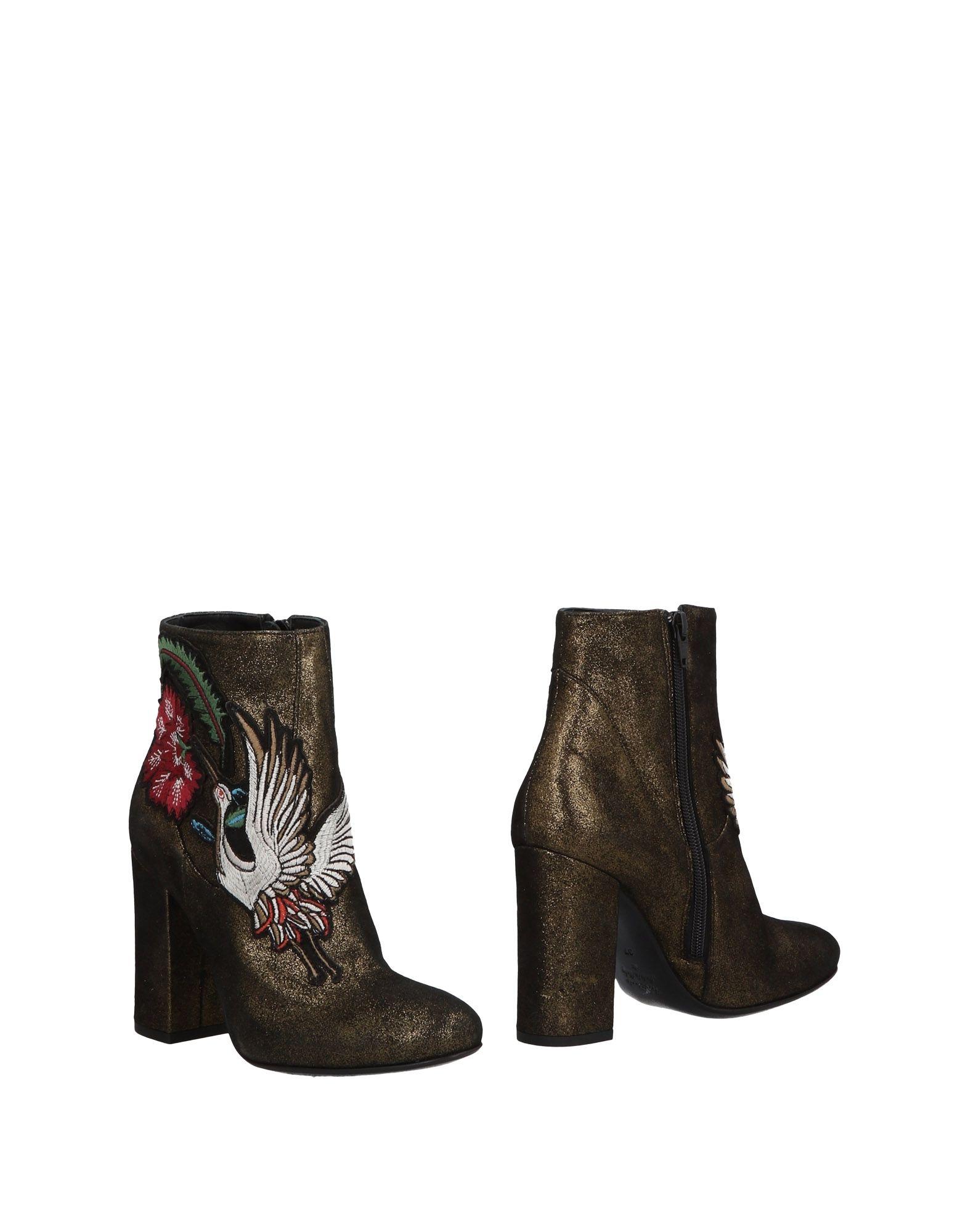 Giancarlo Paoli Stiefelette strapazierfähige Damen  11471257HVGut aussehende strapazierfähige Stiefelette Schuhe 4266f9