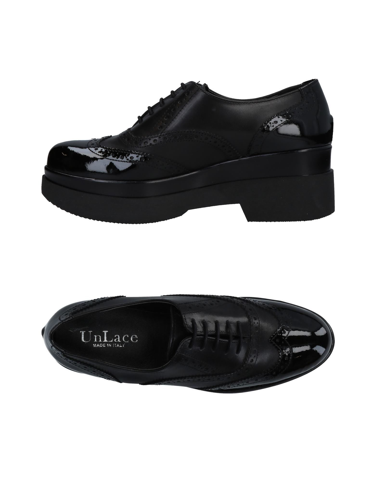 Nuevos zapatos para hombres y y hombres mujeres, descuento por tiempo limitado Zapato De Cordones Unlace Mujer - Zapatos De Cordones Unlace  Negro d7eb94
