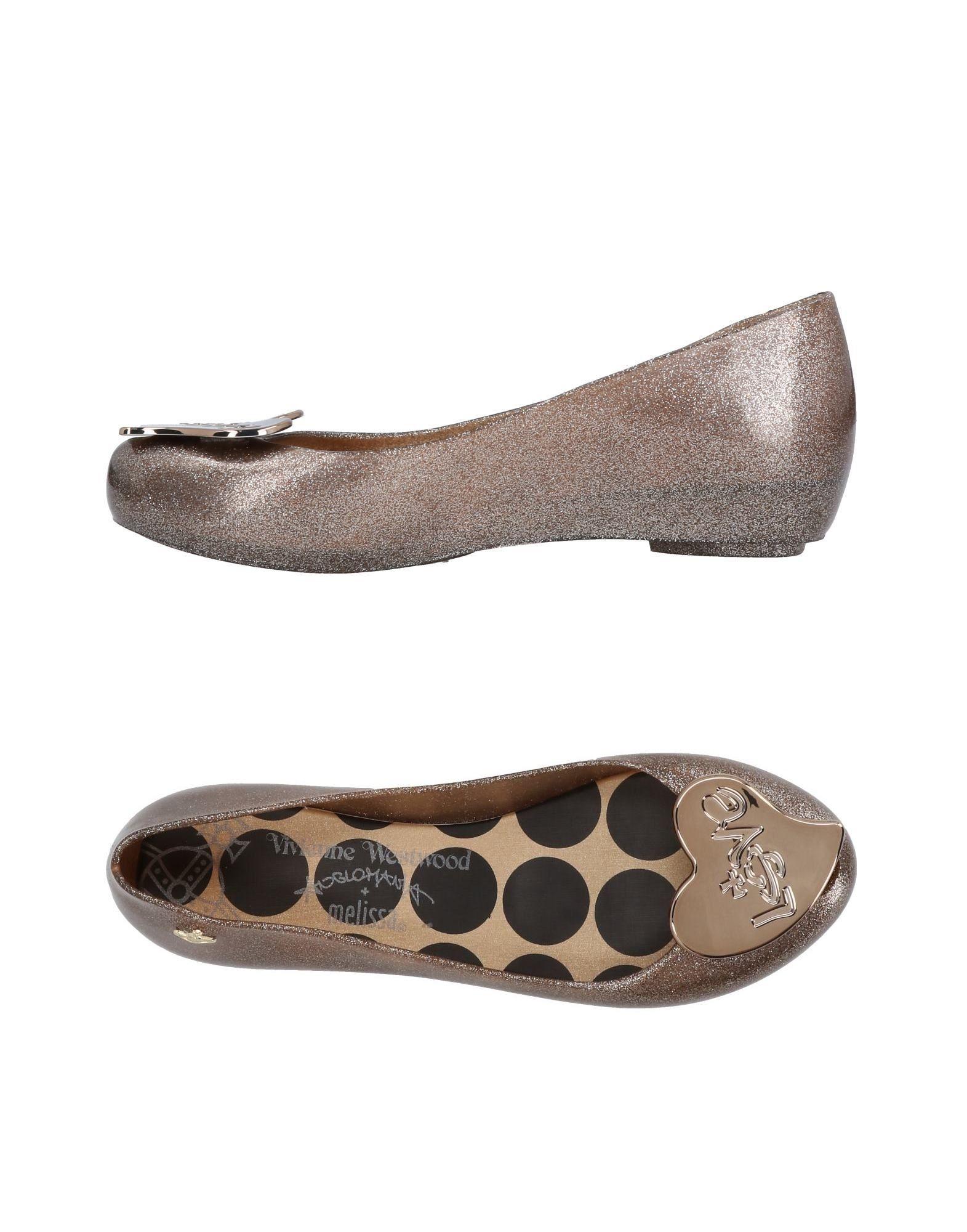Vivienne Westwood Anglomania + Melissa Ballerinas Damen  11471527XE Gute Qualität beliebte Schuhe