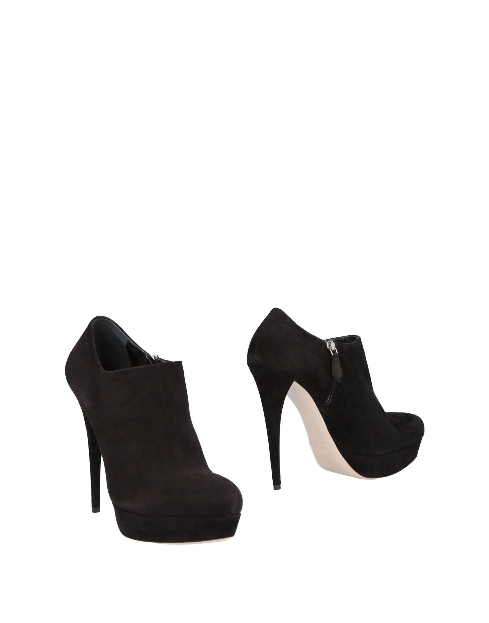 Bottine Miu Miu Femme - Bottines Miu Miu Noir Chaussures casual sauvages