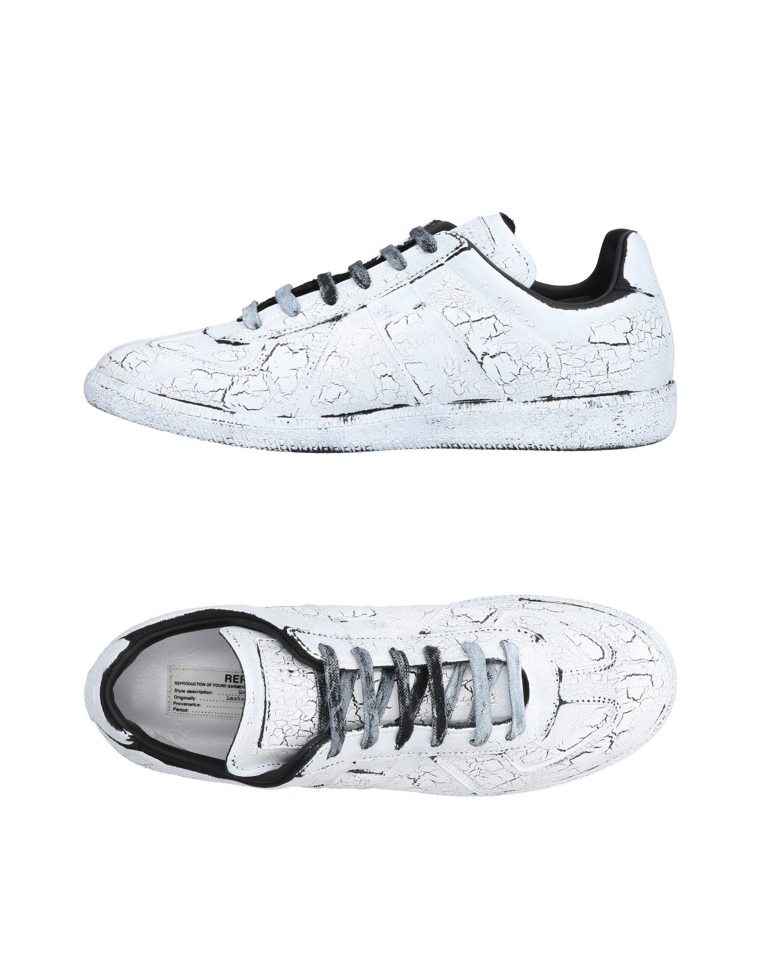 Sneakers Maison Margiela Homme - Sneakers Maison Margiela  Blanc Réduction de prix saisonnier, remise