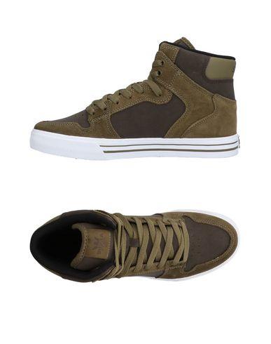Zapatos con descuento Zapatillas Supra Hombre - Zapatillas Supra - 11472000KV Verde militar