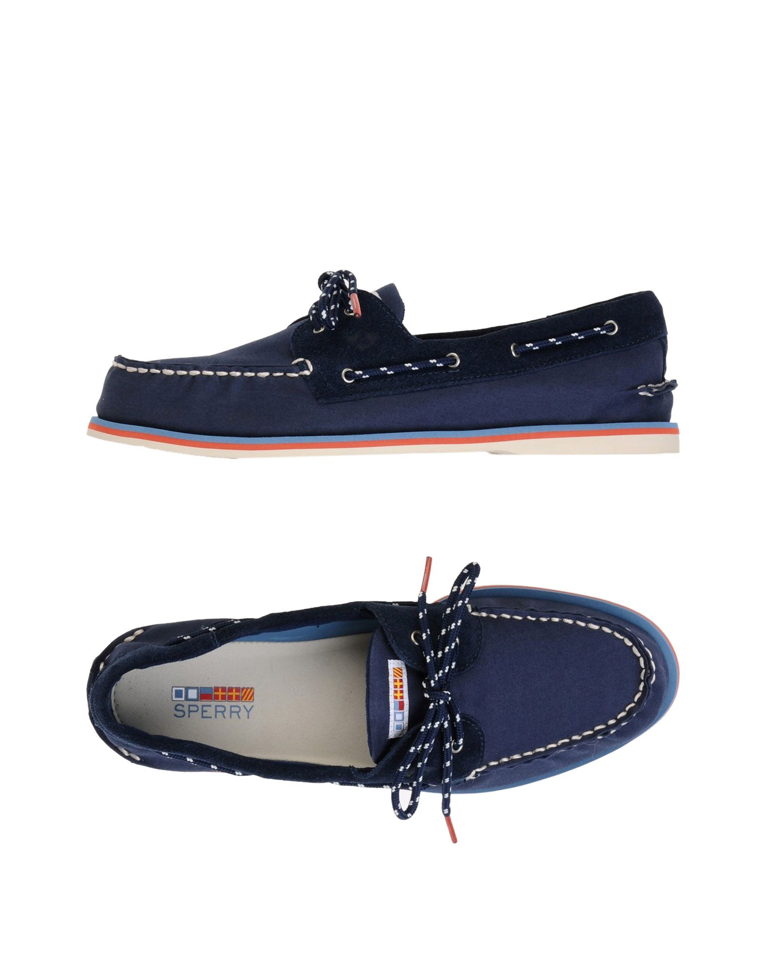 Mocasín Sperry Top-Sider A/O A/O Top-Sider 2-Eye Nautical - Hombre - Mocasines Sperry Top-Sider c8bd40