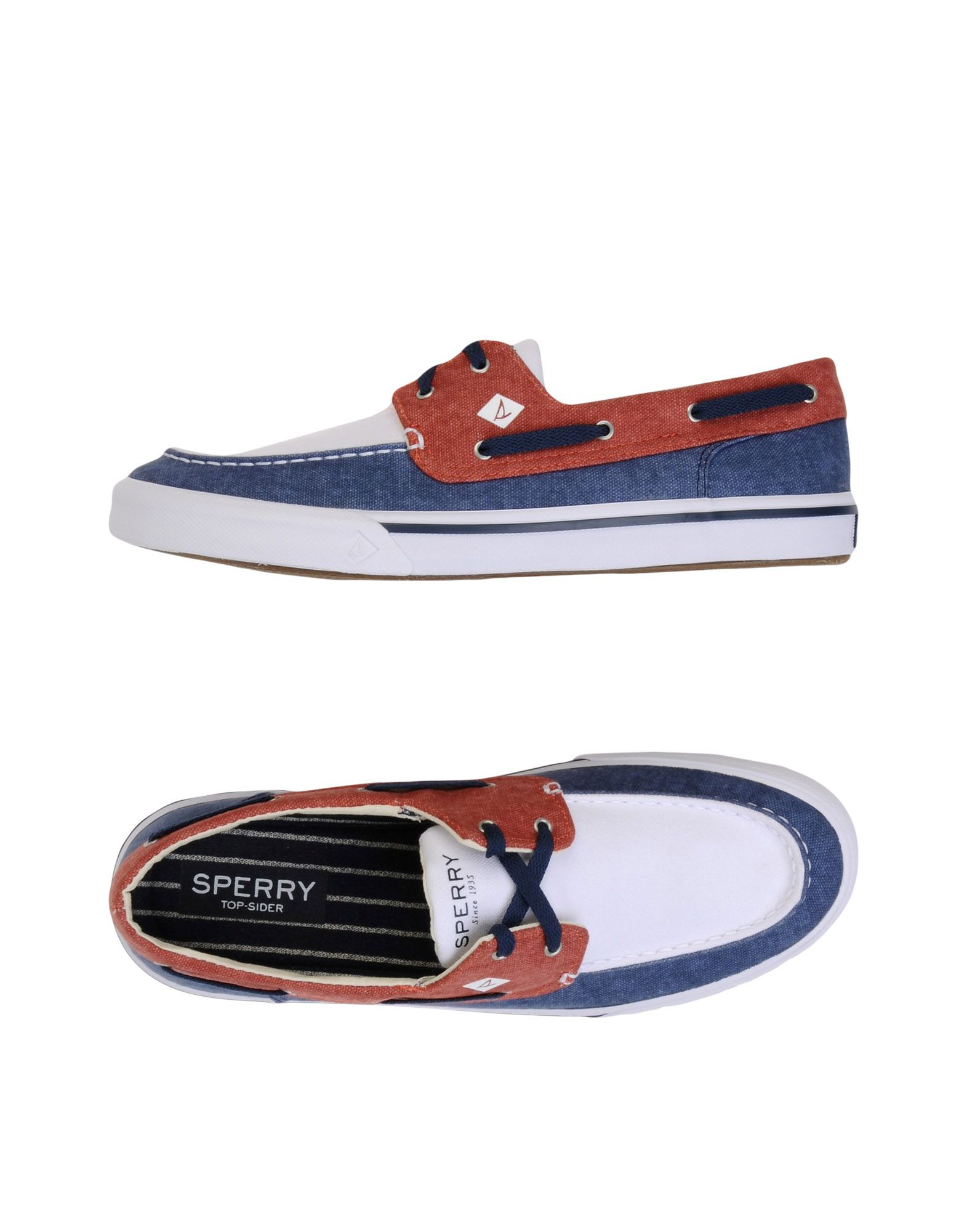 Mocassino Washed Sperry Top-Sider Striper Ii Boat Washed Mocassino - Uomo - 11472295LM 1d12b0